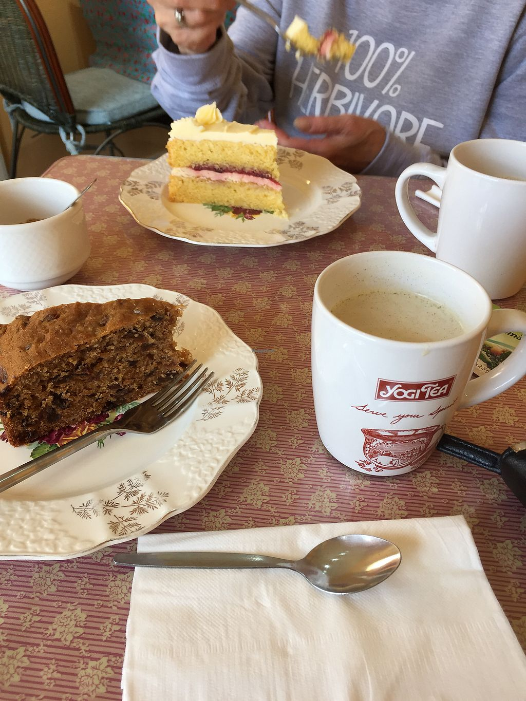 """Photo of The Vegan Way Cafe  by <a href=""""/members/profile/FreyaErickson"""">FreyaErickson</a> <br/>cake! <br/> August 29, 2017  - <a href='/contact/abuse/image/89817/298757'>Report</a>"""