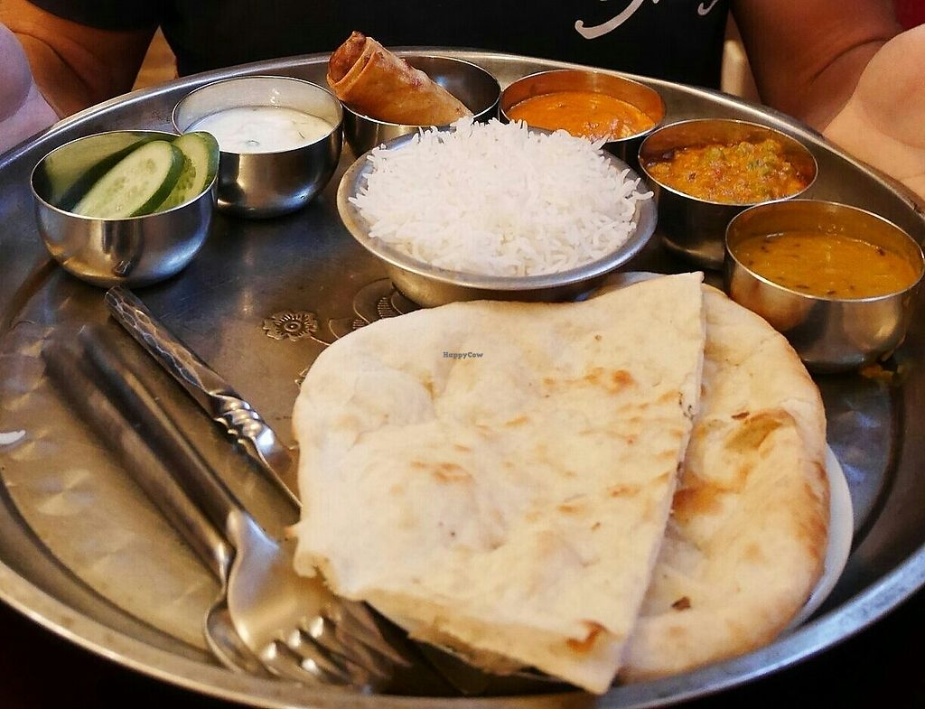 """Photo of Adam's Curries   by <a href=""""/members/profile/CaseyHapponen"""">CaseyHapponen</a> <br/>Thali set <br/> October 2, 2017  - <a href='/contact/abuse/image/89824/311026'>Report</a>"""
