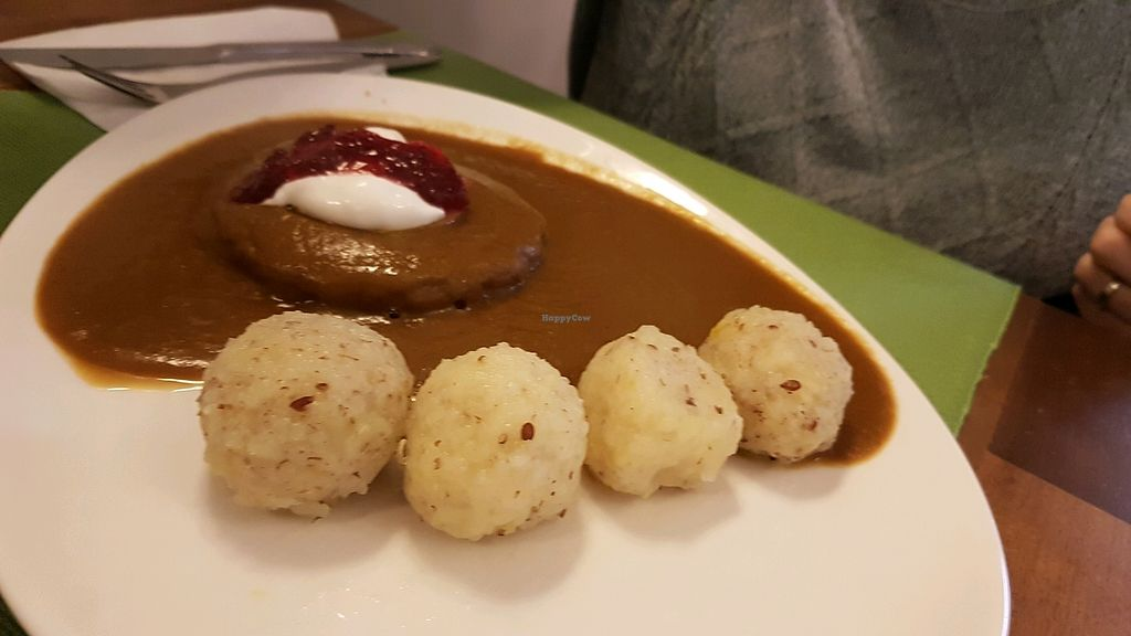 """Photo of CLOSED: U Zelenina  by <a href=""""/members/profile/OferKor"""">OferKor</a> <br/>Dumplings traditional czech  <br/> September 15, 2017  - <a href='/contact/abuse/image/89832/304673'>Report</a>"""