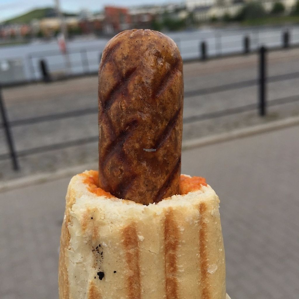 "Photo of Kajsas pa Kajen - Kiosk  by <a href=""/members/profile/Pons"">Pons</a> <br/>Tasty Vegan French Hot Dog with ajvar  <br/> April 4, 2017  - <a href='/contact/abuse/image/89836/244739'>Report</a>"