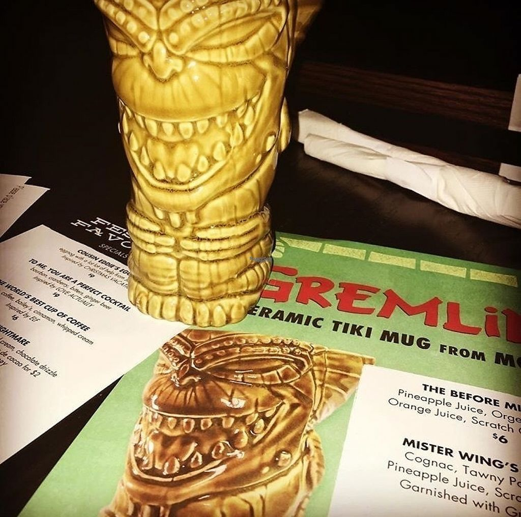 """Photo of Alamo Drafthouse Cinema  by <a href=""""/members/profile/Zuluwhiskey"""">Zuluwhiskey</a> <br/>They do specialty programming and show older films sometimes. They also sell pints glasses and this cool tiki mug! <br/> April 6, 2017  - <a href='/contact/abuse/image/89837/245149'>Report</a>"""
