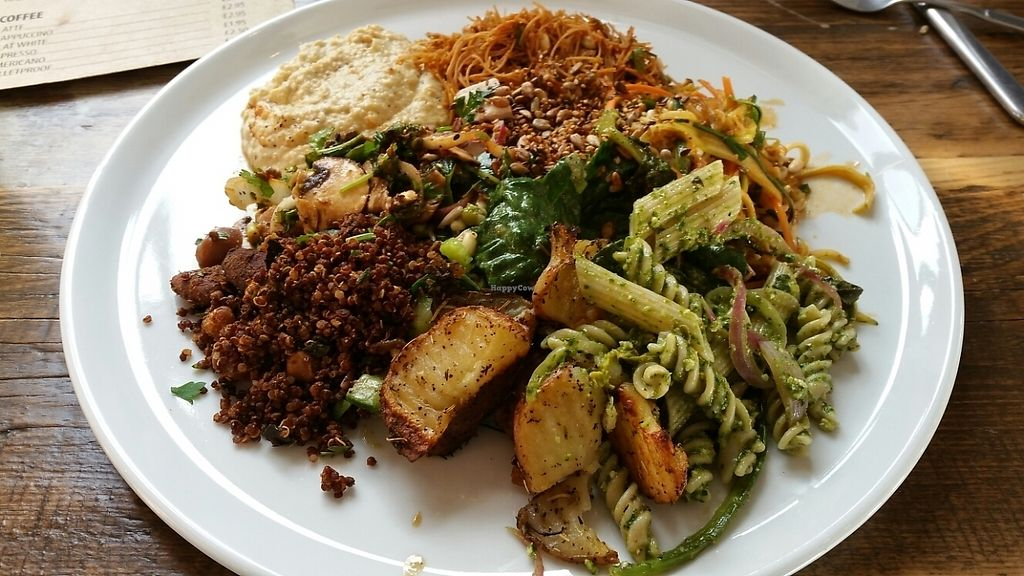 """Photo of Natural Healthy Foods Eatery  by <a href=""""/members/profile/JaneVGallurt"""">JaneVGallurt</a> <br/>Massive choice of delicious food <br/> May 20, 2017  - <a href='/contact/abuse/image/89849/260652'>Report</a>"""