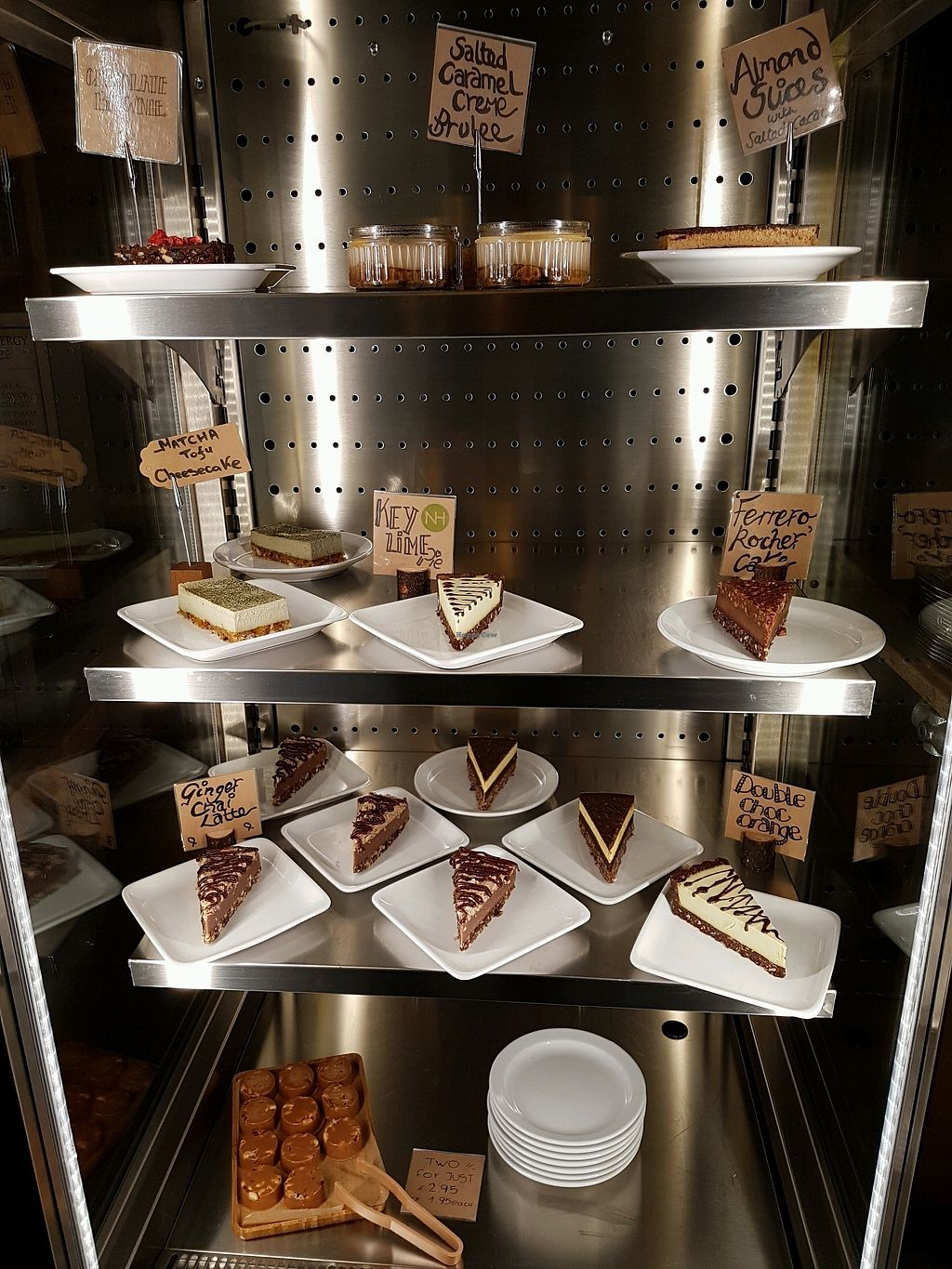 """Photo of Natural Healthy Foods Eatery  by <a href=""""/members/profile/Hoggy"""">Hoggy</a> <br/>Assortment of desserts <br/> January 12, 2018  - <a href='/contact/abuse/image/89849/345685'>Report</a>"""
