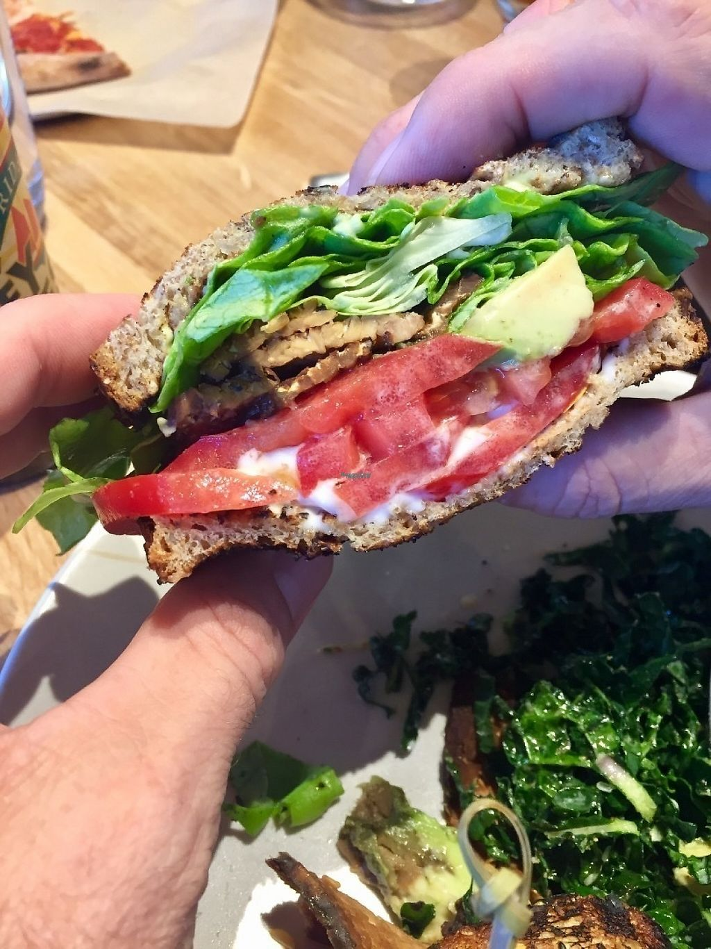 """Photo of True Food Kitchen  by <a href=""""/members/profile/BevinCox"""">BevinCox</a> <br/>TLT sandwich <br/> April 9, 2017  - <a href='/contact/abuse/image/89851/246013'>Report</a>"""