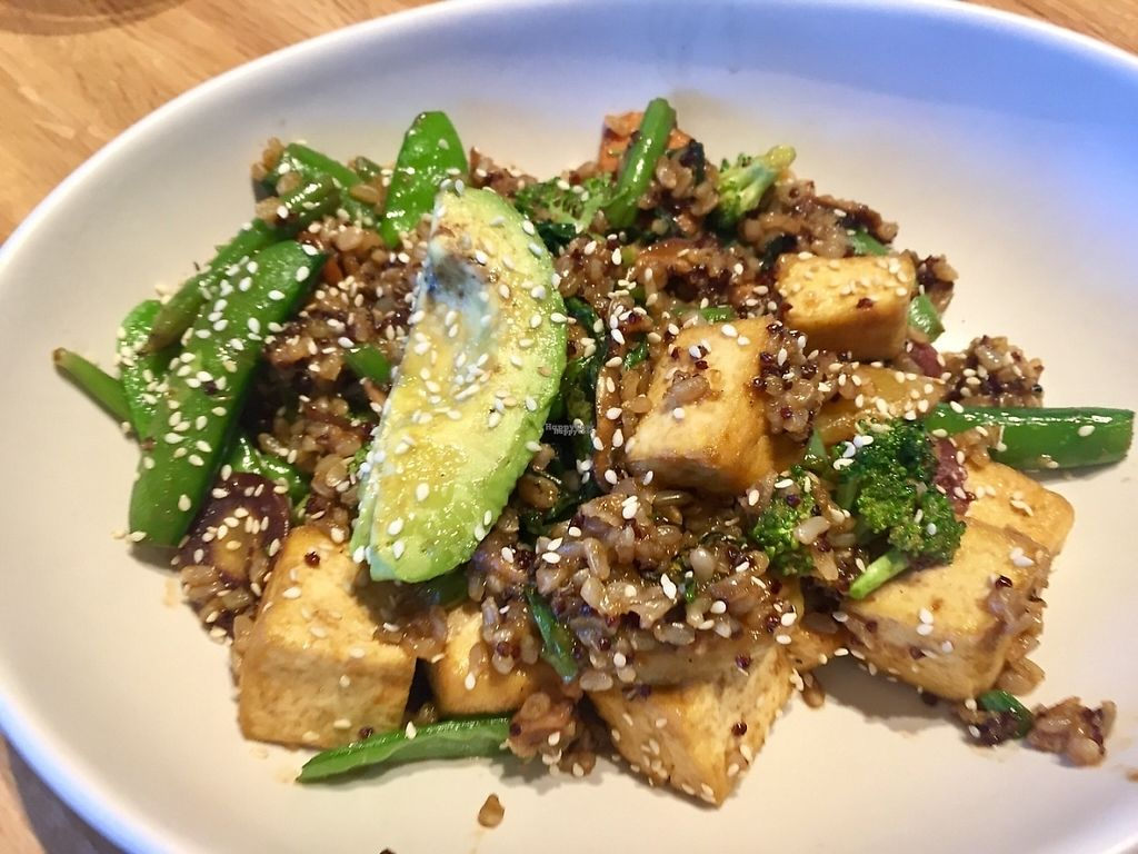 """Photo of True Food Kitchen  by <a href=""""/members/profile/BevinCox"""">BevinCox</a> <br/>Teriyaki quinoa bowl with tofu.  <br/> April 9, 2017  - <a href='/contact/abuse/image/89851/246014'>Report</a>"""