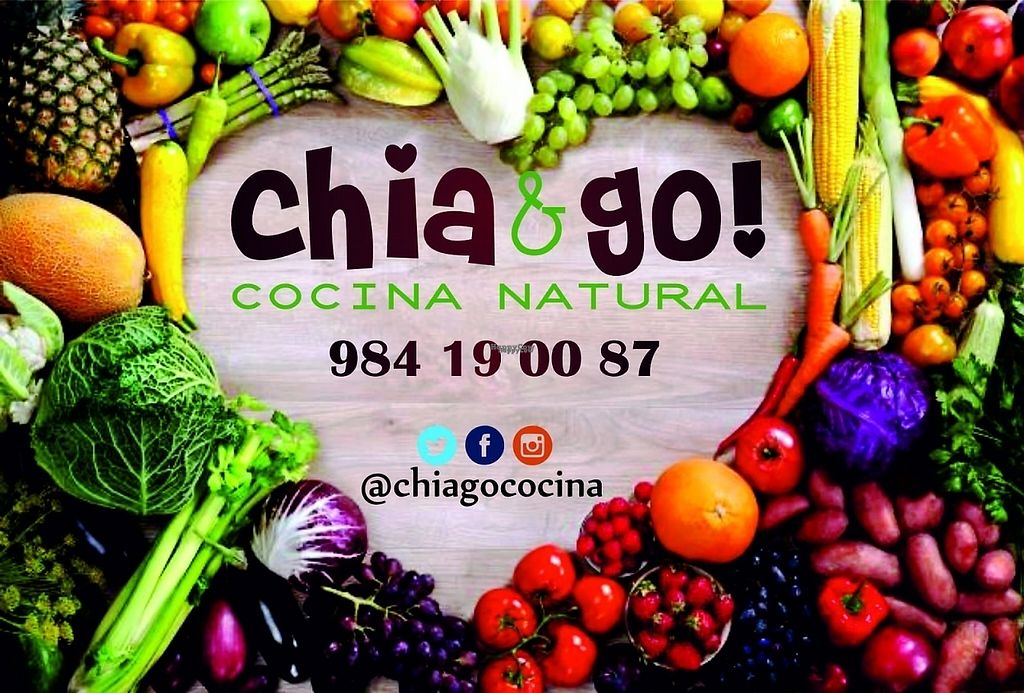 "Photo of CLOSED: Chia&Go  by <a href=""/members/profile/Chia%26Go%21"">Chia&Go!</a> <br/>Cocina vegana en Gijón. Asturias. Te lo llevamos.