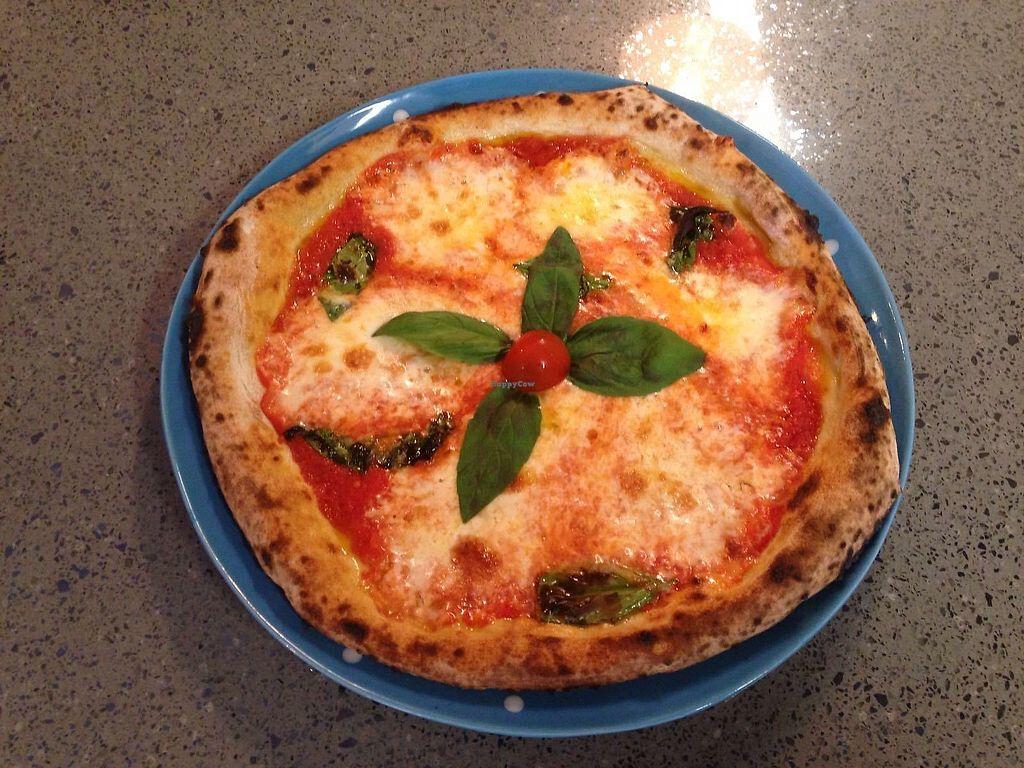 "Photo of Pizzeria  Impefetto  by <a href=""/members/profile/MonicaMuzzioli"">MonicaMuzzioli</a> <br/>Pizza Margherita: tomato sauce, basil, mozzarella made with organic milk and no animal rennet <br/> July 20, 2017  - <a href='/contact/abuse/image/89859/282602'>Report</a>"