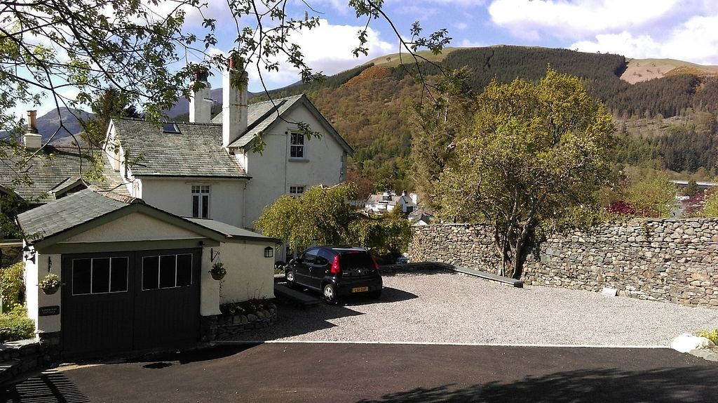 """Photo of Sandburne Vegetarian Guest House  by <a href=""""/members/profile/Sandburne"""">Sandburne</a> <br/>Plenty of off road parking - very helpful in Keswick! view of the house towards Latrigg <br/> April 8, 2017  - <a href='/contact/abuse/image/89875/245695'>Report</a>"""