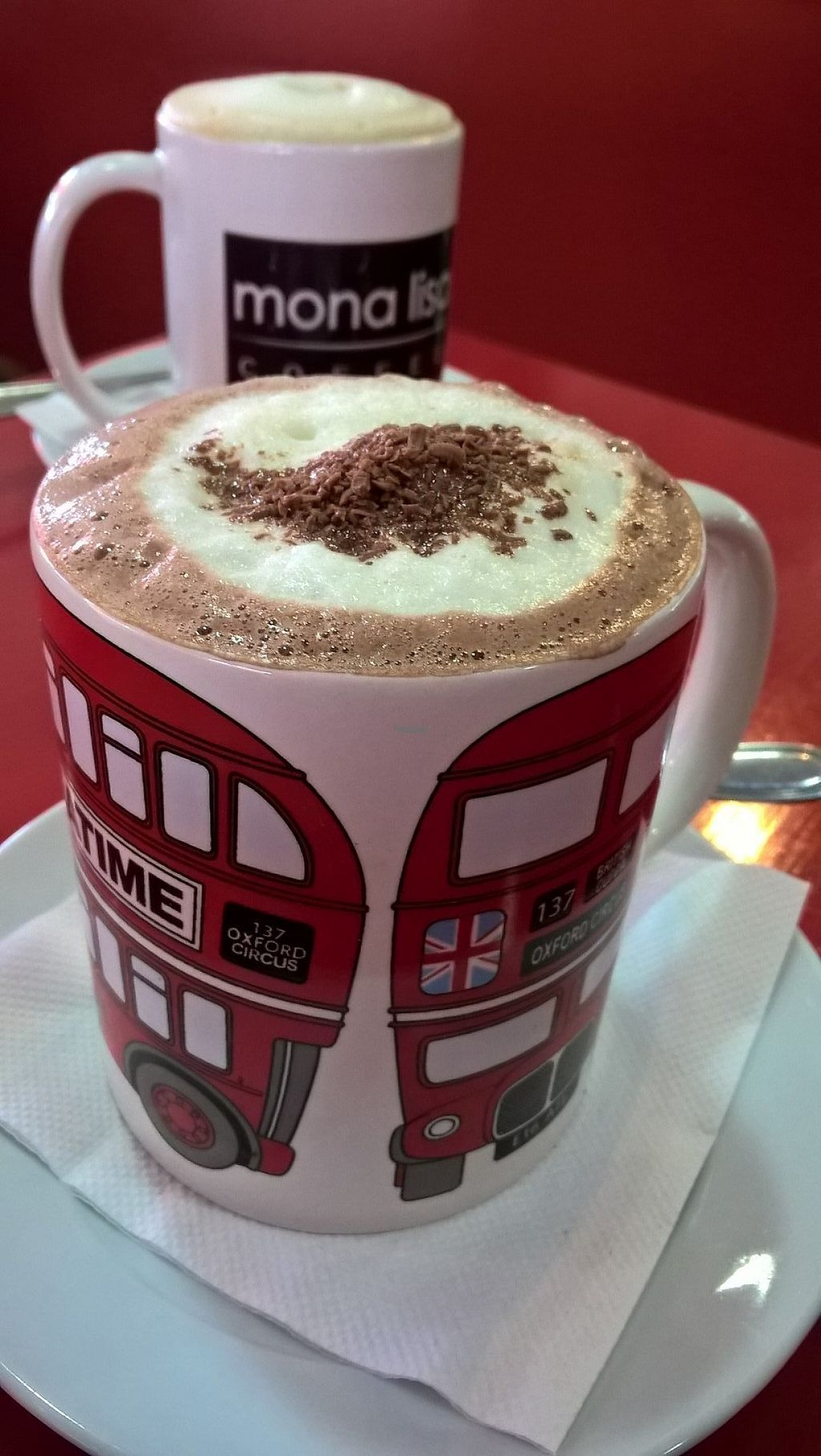 "Photo of Mona Lisa Coffee  by <a href=""/members/profile/arya00"">arya00</a> <br/>Soy hot choc <br/> April 5, 2017  - <a href='/contact/abuse/image/89890/245050'>Report</a>"