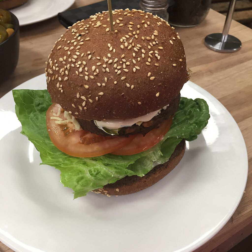 "Photo of MooFree Burgers - Maroochydore  by <a href=""/members/profile/holliem1993"">holliem1993</a> <br/>VBD burger <br/> September 27, 2017  - <a href='/contact/abuse/image/89904/309030'>Report</a>"