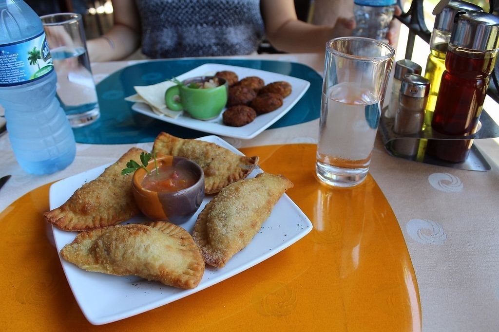 """Photo of Topoly  by <a href=""""/members/profile/JamesMorgan"""">JamesMorgan</a> <br/>Deep fried spring rolls and falafel <br/> April 5, 2017  - <a href='/contact/abuse/image/89916/245075'>Report</a>"""