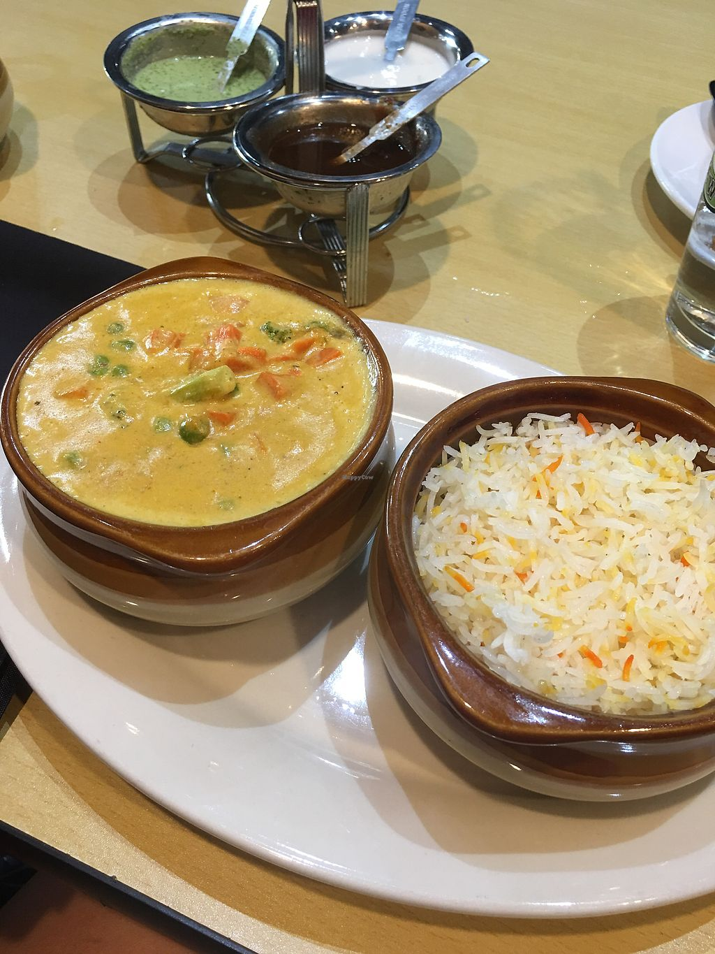 "Photo of Spice Club Indian Grill  by <a href=""/members/profile/NatashaJason"">NatashaJason</a> <br/>Veggie Koorma... so good! (vegan) <br/> July 8, 2017  - <a href='/contact/abuse/image/89917/278013'>Report</a>"