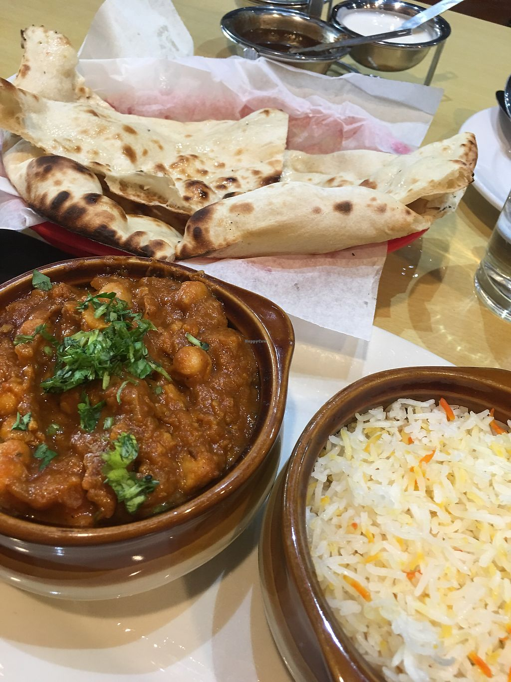 "Photo of Spice Club Indian Grill  by <a href=""/members/profile/NatashaJason"">NatashaJason</a> <br/>Chana Masala - (vegetarian because of the naan bread)  <br/> July 8, 2017  - <a href='/contact/abuse/image/89917/278014'>Report</a>"