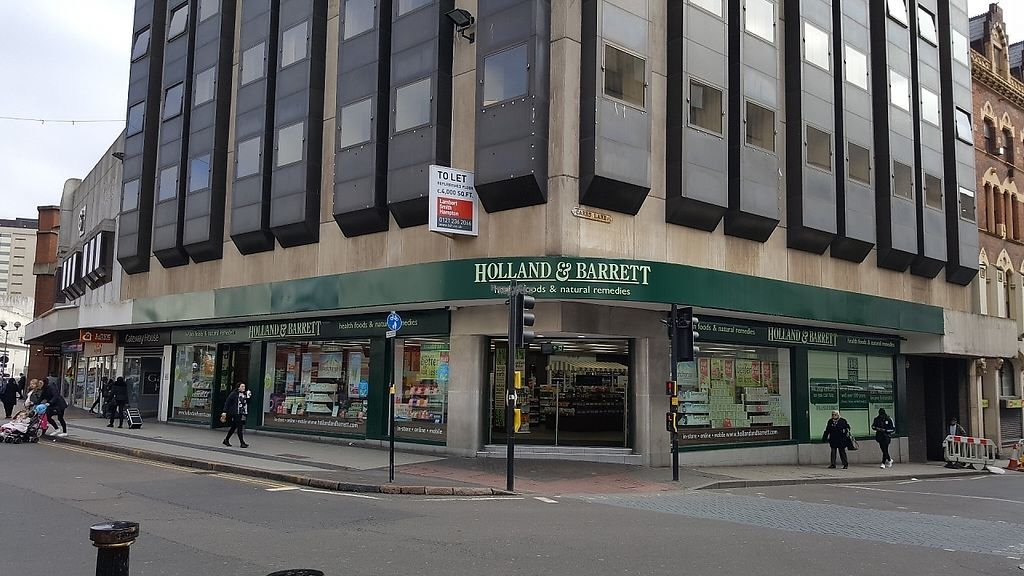 """Photo of Holland and Barrett  by <a href=""""/members/profile/Clare"""">Clare</a> <br/>Big High St branch <br/> April 6, 2017  - <a href='/contact/abuse/image/89918/245099'>Report</a>"""