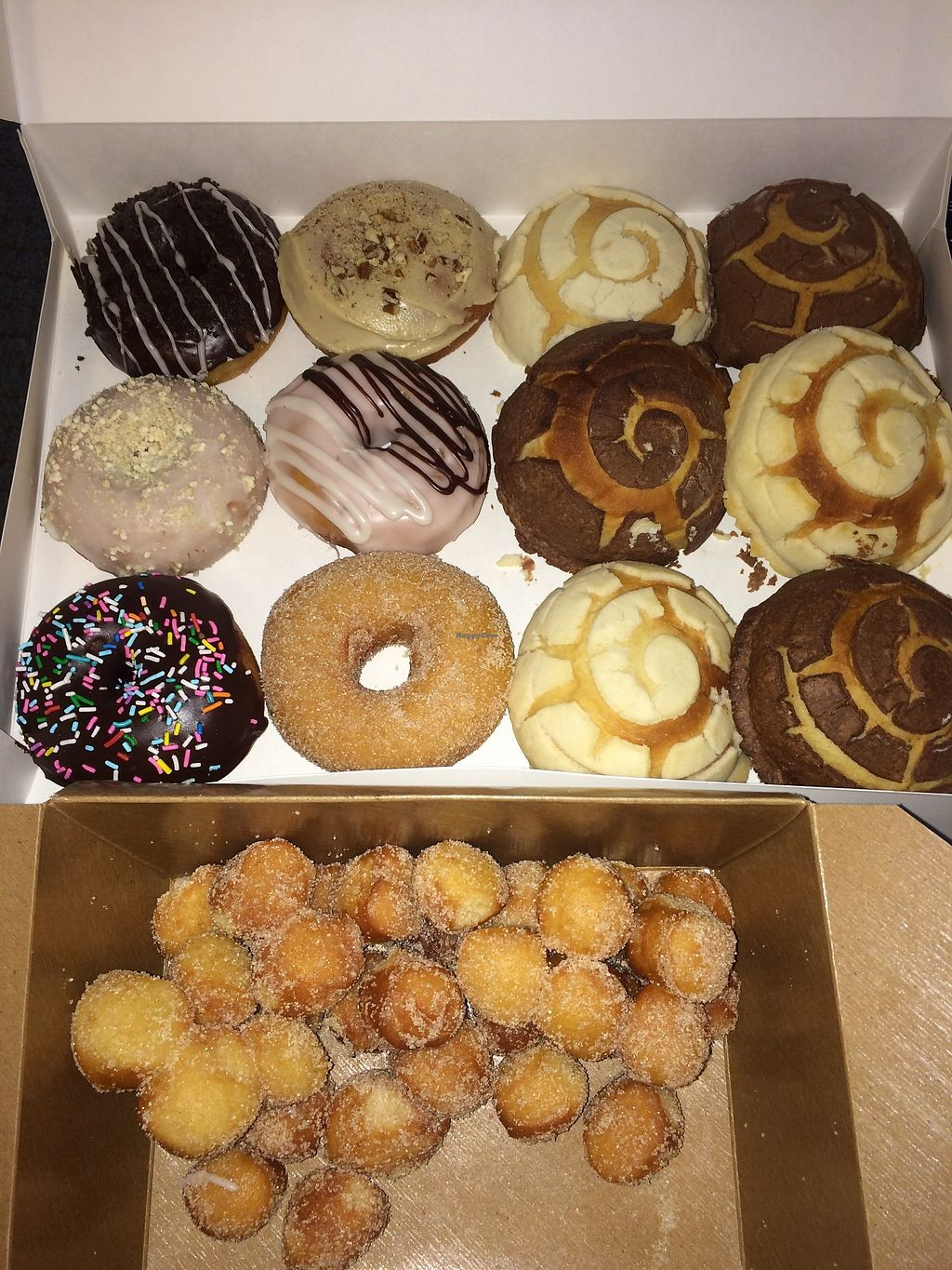 """Photo of Sane Treats  by <a href=""""/members/profile/samirarojo"""">samirarojo</a> <br/>Donuts, conchas and donut holes! <br/> March 13, 2018  - <a href='/contact/abuse/image/89985/369977'>Report</a>"""