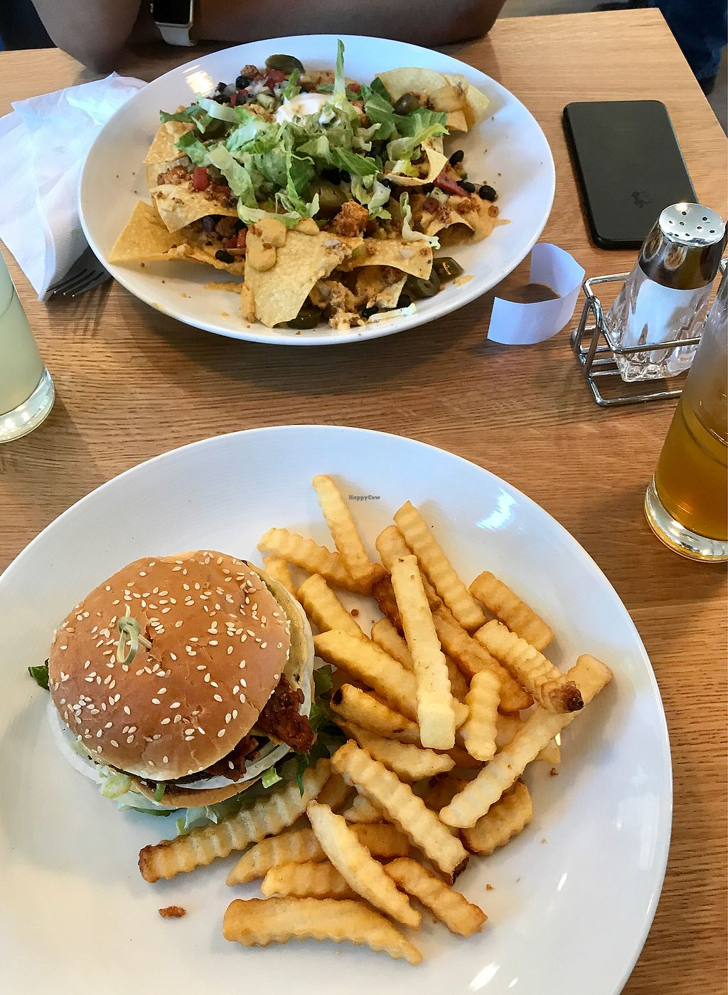"""Photo of J Selby's  by <a href=""""/members/profile/Victoria_Vegan"""">Victoria_Vegan</a> <br/>Dirty Secret w/ Tempeh Bacon & Nachos  <br/> August 2, 2017  - <a href='/contact/abuse/image/90026/288005'>Report</a>"""