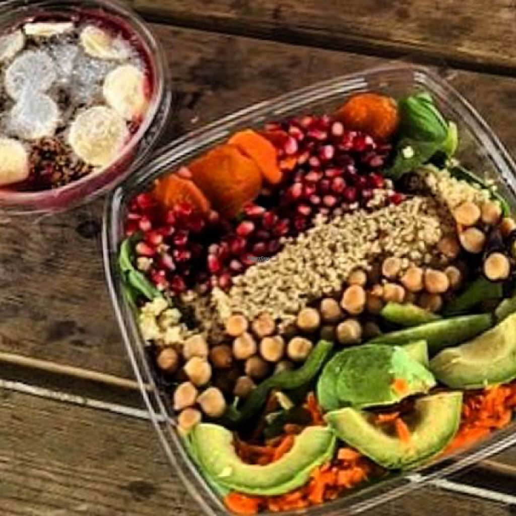 """Photo of Revitasize  by <a href=""""/members/profile/BrittanySchaumer"""">BrittanySchaumer</a> <br/>delicious acai bowls and salad <br/> April 8, 2017  - <a href='/contact/abuse/image/90033/245637'>Report</a>"""