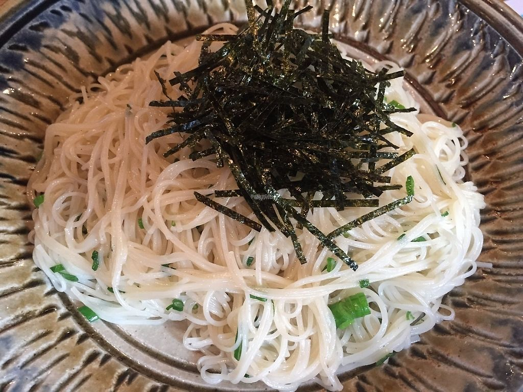 """Photo of Funakura no Sato  by <a href=""""/members/profile/SamanthaIngridHo"""">SamanthaIngridHo</a> <br/>Noodles with scallion and sesame oil <br/> April 10, 2017  - <a href='/contact/abuse/image/90040/246762'>Report</a>"""