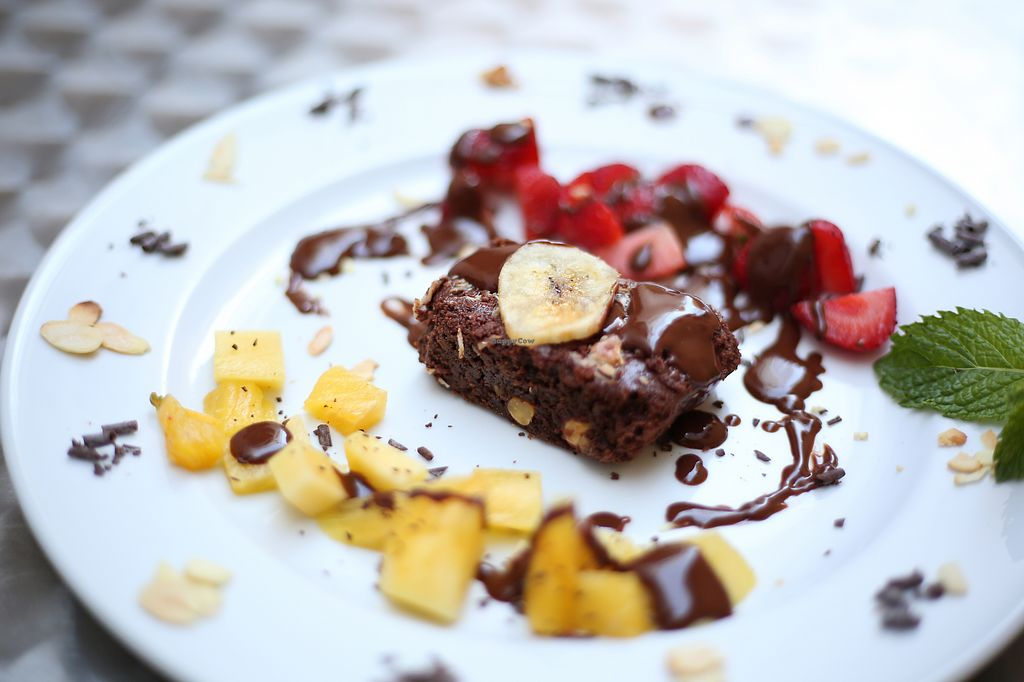"""Photo of La Esterella  by <a href=""""/members/profile/OlivierJacques"""">OlivierJacques</a> <br/>vegan brownie <br/> July 28, 2017  - <a href='/contact/abuse/image/90054/285914'>Report</a>"""
