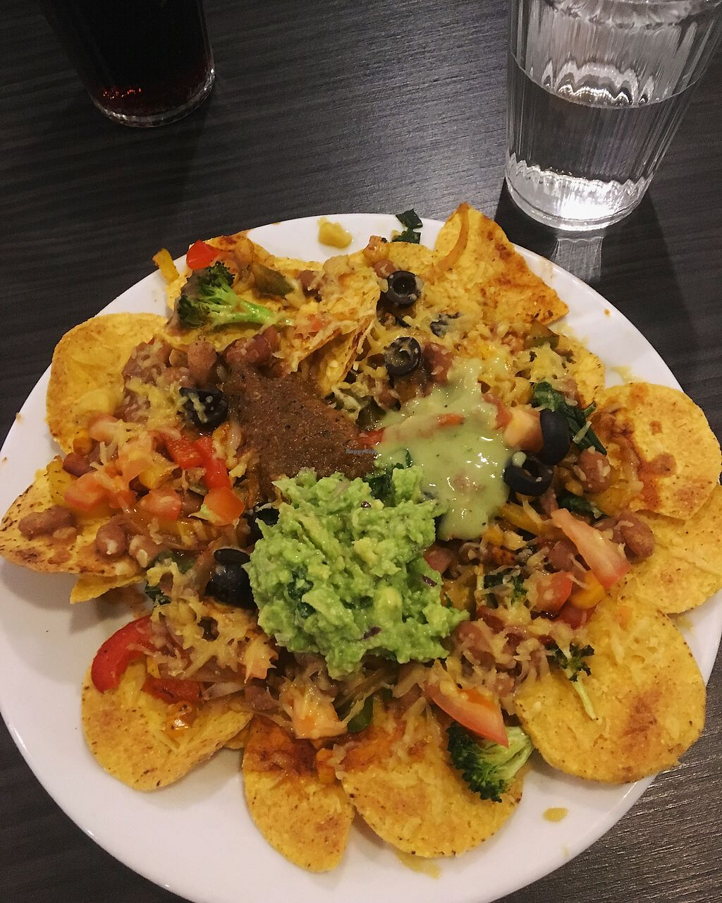 "Photo of Dos Amigos  by <a href=""/members/profile/CamillaWennberg"">CamillaWennberg</a> <br/>Vegetarian nacho. With vegan cheese!  <br/> November 20, 2017  - <a href='/contact/abuse/image/90094/327476'>Report</a>"