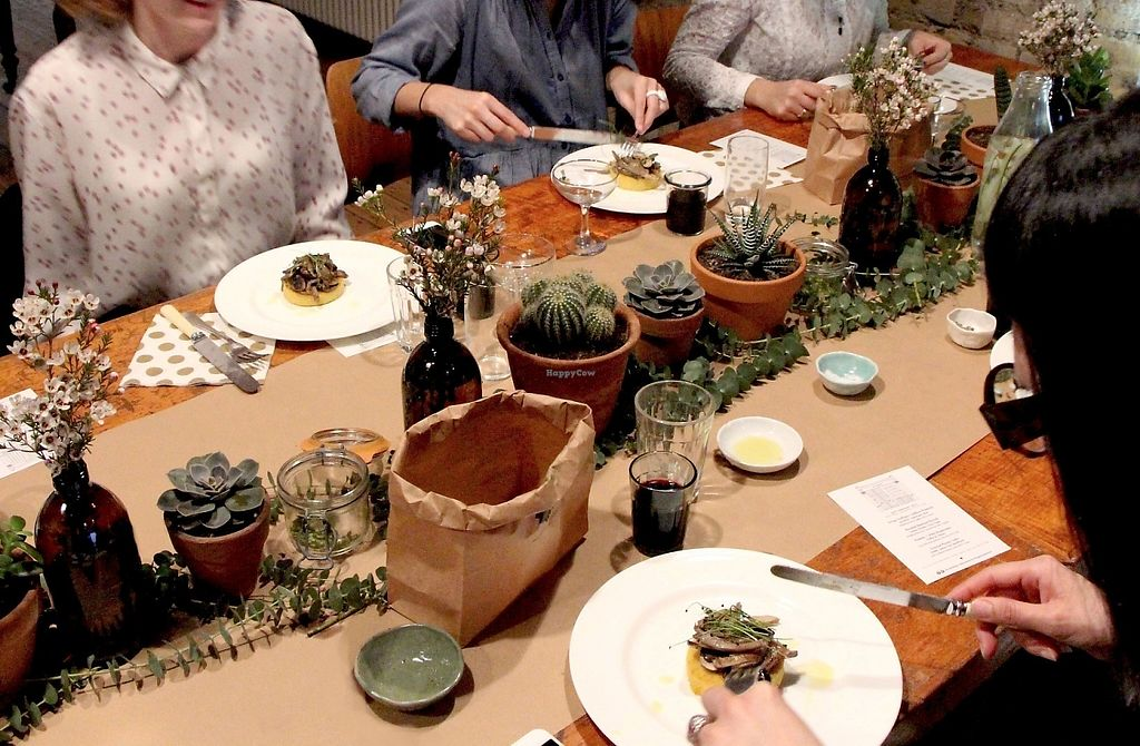 """Photo of 10 Cable St  by <a href=""""/members/profile/MokoSellars"""">MokoSellars</a> <br/>Plant-based supper club <br/> May 24, 2017  - <a href='/contact/abuse/image/90104/262053'>Report</a>"""