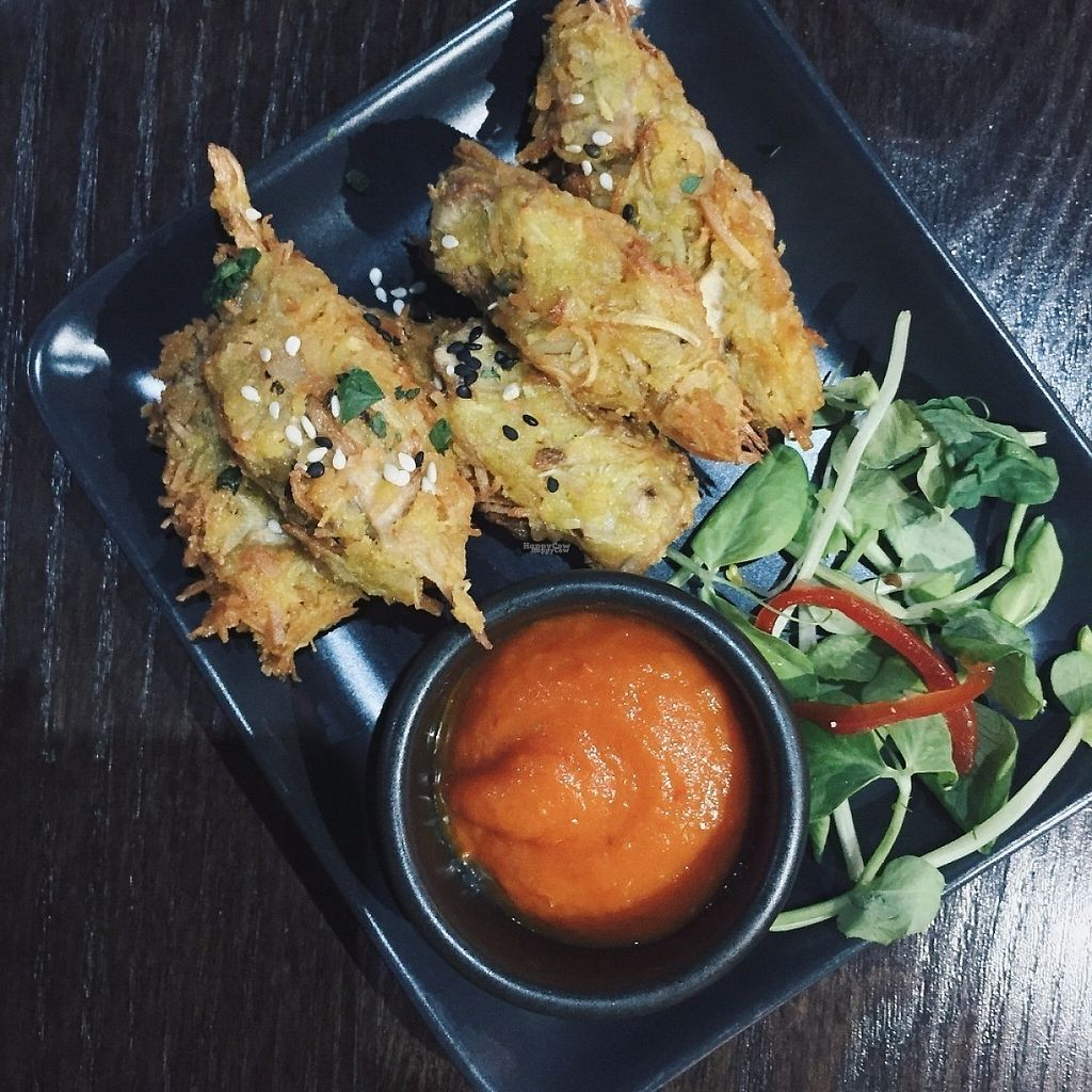 "Photo of Dejavu  by <a href=""/members/profile/caitjoy"">caitjoy</a> <br/>Fireballs - Jackfruit Pakoras <br/> April 10, 2017  - <a href='/contact/abuse/image/90111/246619'>Report</a>"
