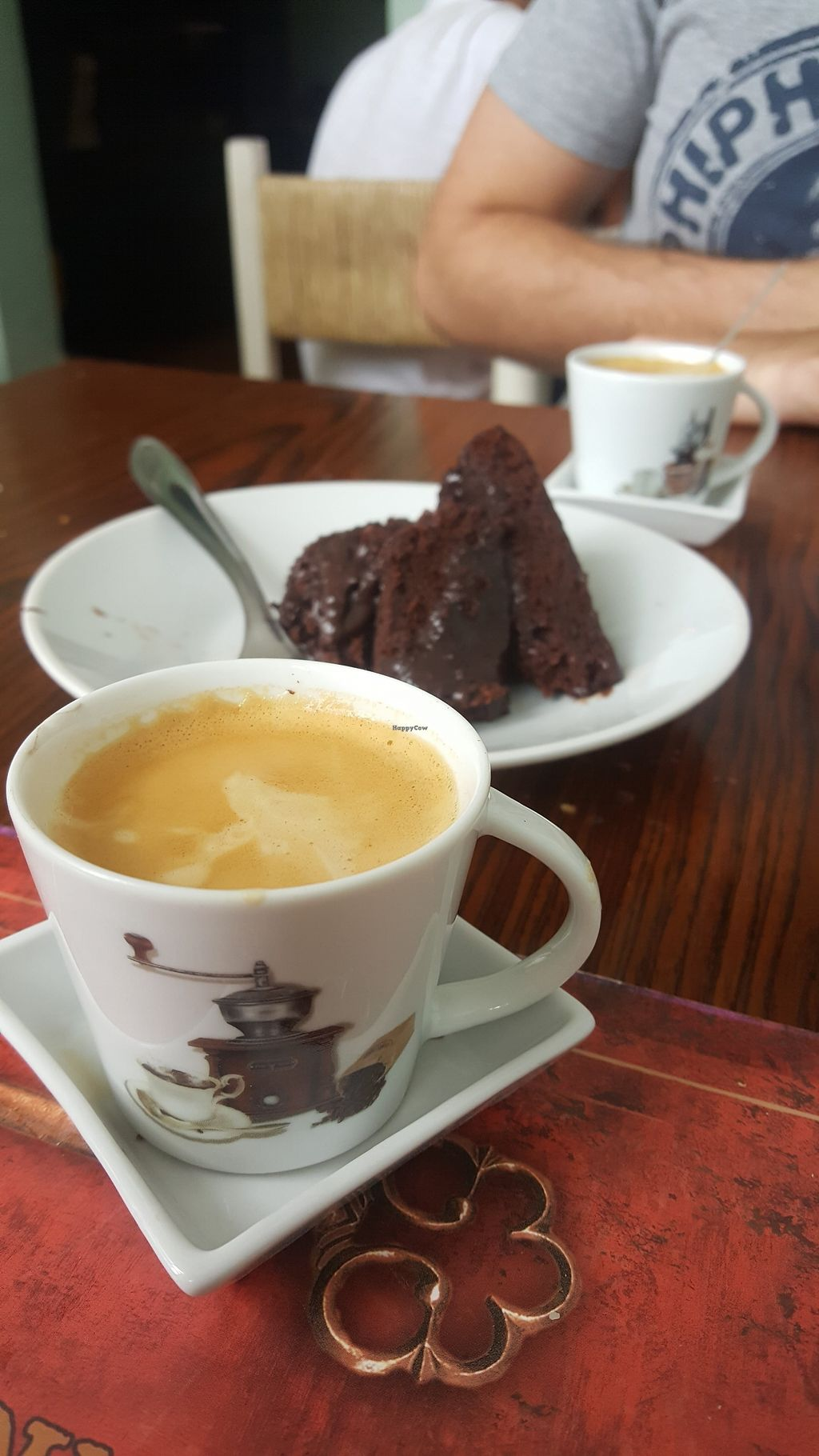 """Photo of Asseama - Franca Pinto  by <a href=""""/members/profile/sarahssoares"""">sarahssoares</a> <br/>Chocolate cake and coffee <br/> March 8, 2018  - <a href='/contact/abuse/image/90129/368175'>Report</a>"""