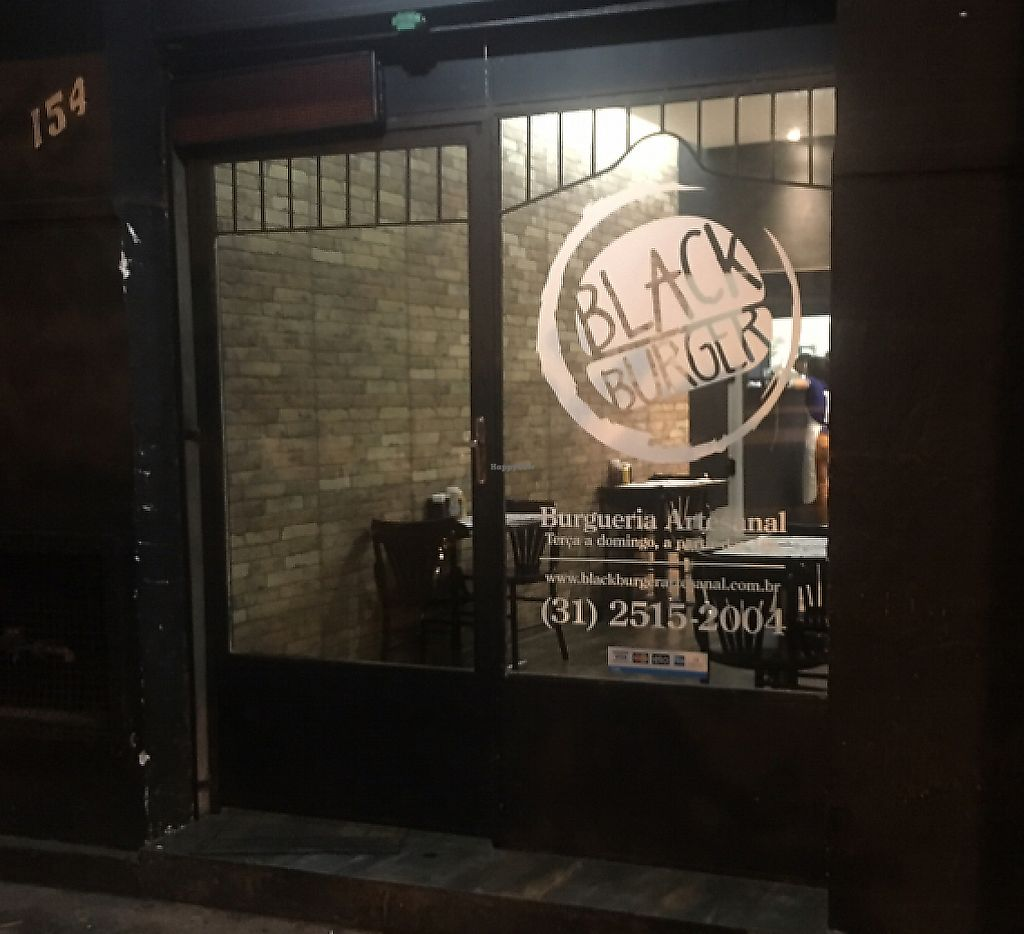"""Photo of Black Burger  by <a href=""""/members/profile/vegan_ryan"""">vegan_ryan</a> <br/>exterior <br/> April 9, 2017  - <a href='/contact/abuse/image/90135/289897'>Report</a>"""