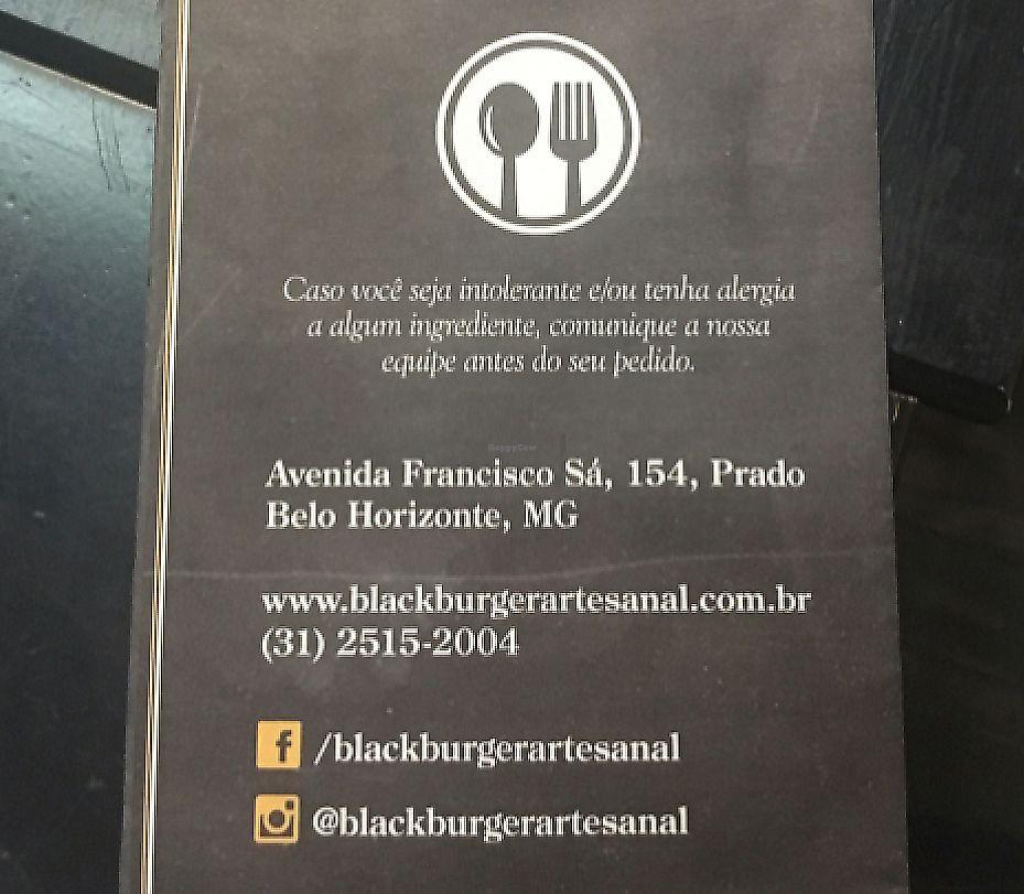 "Photo of Black Burger  by <a href=""/members/profile/vegan_ryan"">vegan_ryan</a> <br/>menu back <br/> April 9, 2017  - <a href='/contact/abuse/image/90135/289898'>Report</a>"