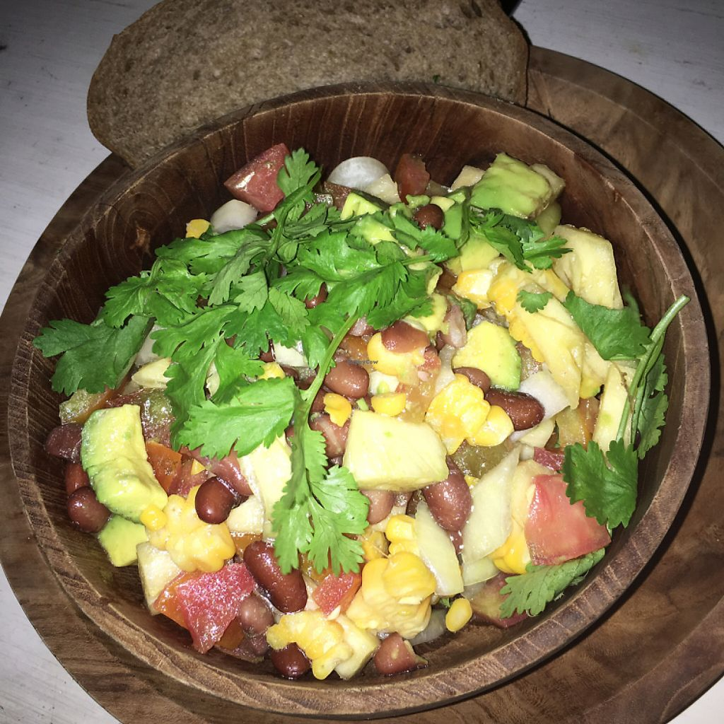 """Photo of Nook  by <a href=""""/members/profile/SarahBonney"""">SarahBonney</a> <br/>appetiser salsa with pesto bread <br/> May 5, 2017  - <a href='/contact/abuse/image/90147/255856'>Report</a>"""