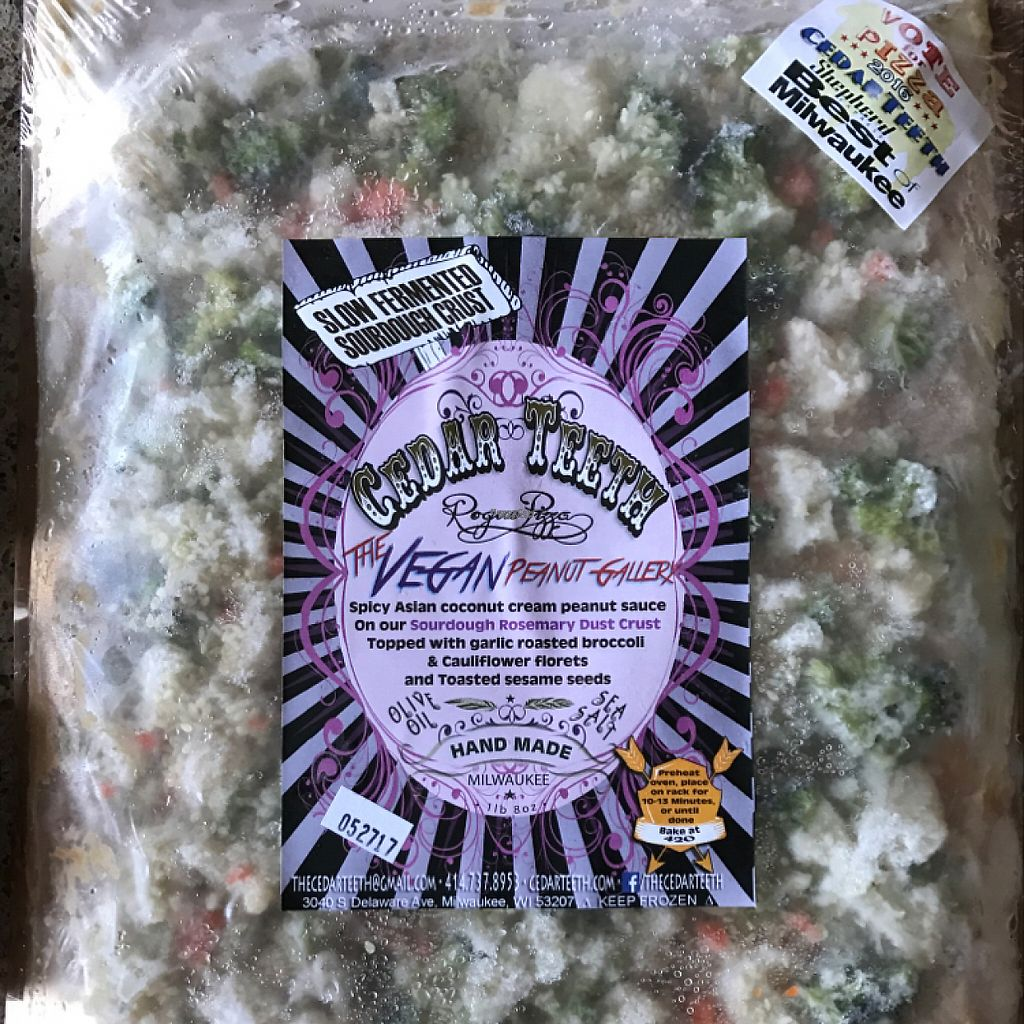 """Photo of Outpost Natural Foods - Bay View  by ccaatt <br/>current obsession: cedar teeth vegan pizzas. outpost carries 2 that I know of, this one and the """"psycho kaler"""". both super good! <br/> November 30, 2016  - <a href='/contact/abuse/image/9014/195996'>Report</a>"""