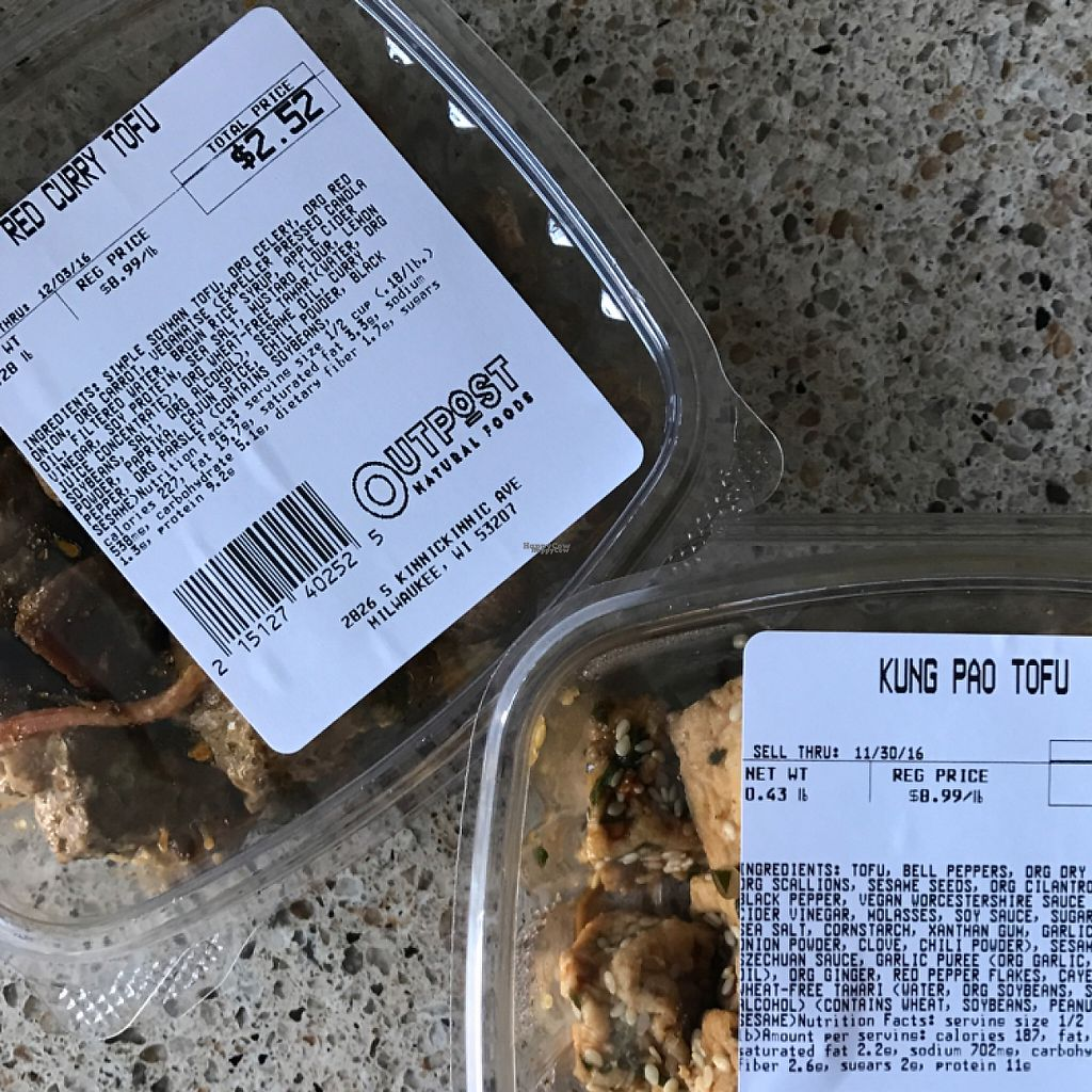 Photo of Outpost Natural Foods - Bay View  by ccaatt <br/>I get these at least once a week. perfect as a side, add in to a larger dish, or even for a grab n go lunch! <br/> November 30, 2016  - <a href='/contact/abuse/image/9014/195997'>Report</a>