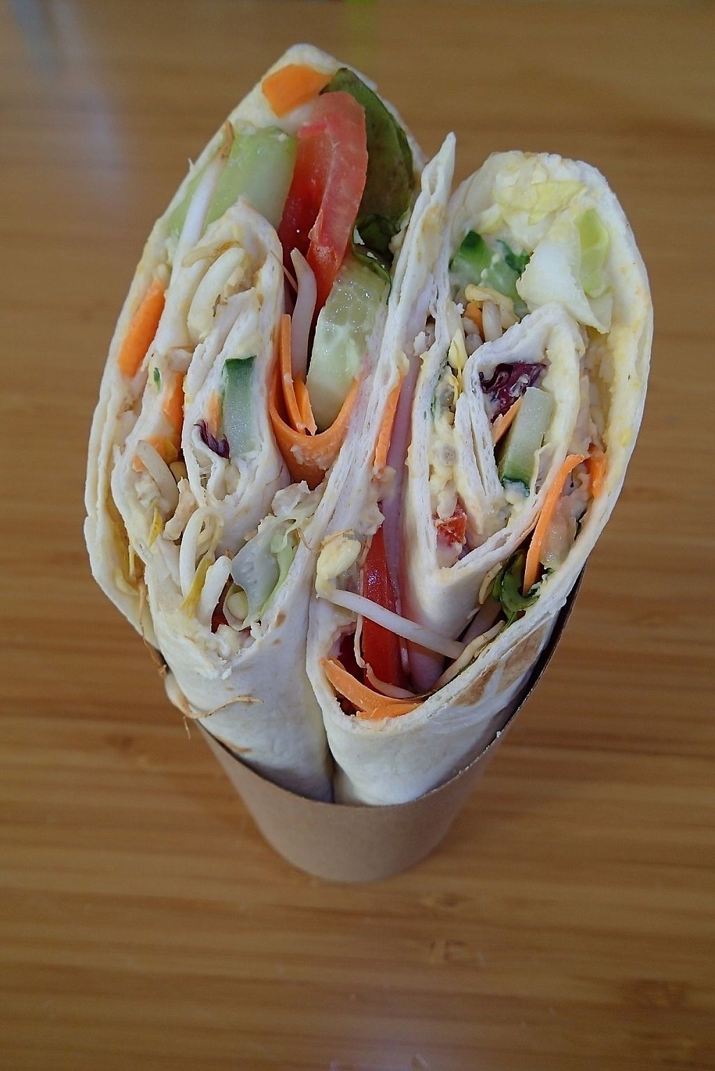 """Photo of Australian Coffee Shop  by <a href=""""/members/profile/Tyrone"""">Tyrone</a> <br/>Vegan Wrap (Yum!) <br/> April 21, 2017  - <a href='/contact/abuse/image/90191/250665'>Report</a>"""