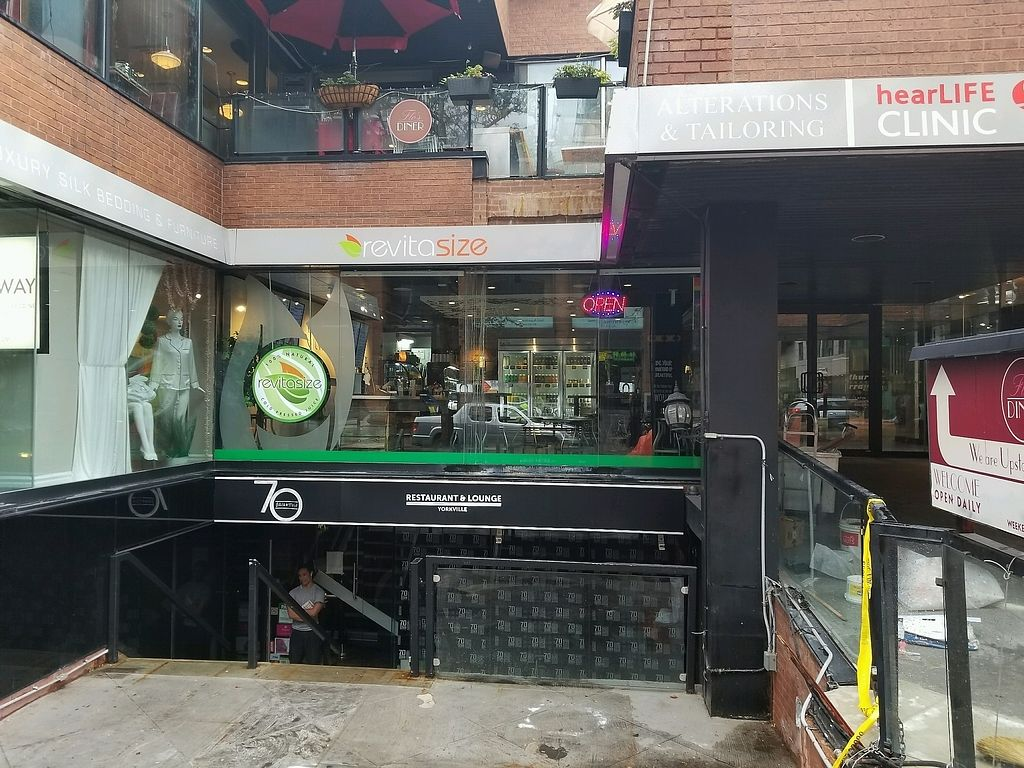 """Photo of Revitasize - Yorkville Ave  by <a href=""""/members/profile/kenvegan"""">kenvegan</a> <br/>Outside <br/> September 7, 2017  - <a href='/contact/abuse/image/90192/301855'>Report</a>"""