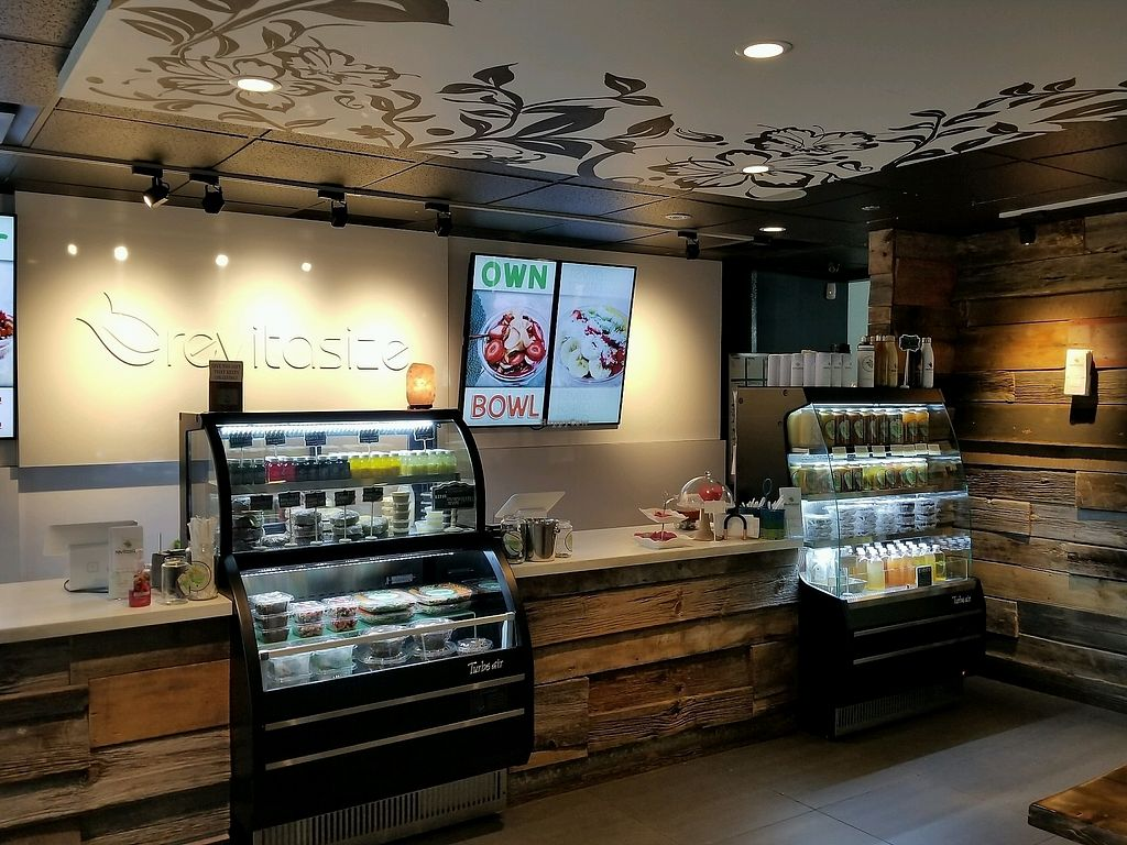 """Photo of Revitasize - Yorkville Ave  by <a href=""""/members/profile/kenvegan"""">kenvegan</a> <br/>inside <br/> September 7, 2017  - <a href='/contact/abuse/image/90192/301856'>Report</a>"""