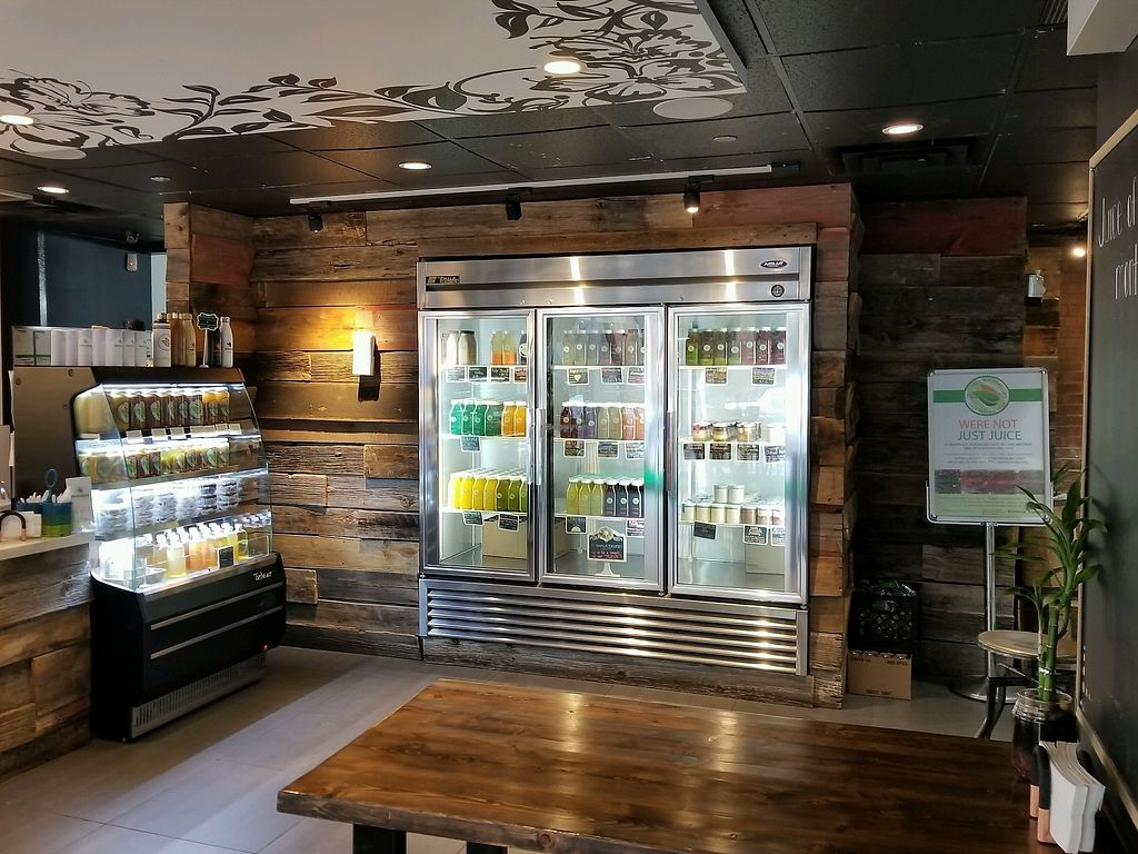 """Photo of Revitasize - Yorkville Ave  by <a href=""""/members/profile/kenvegan"""">kenvegan</a> <br/>juices <br/> September 7, 2017  - <a href='/contact/abuse/image/90192/301857'>Report</a>"""
