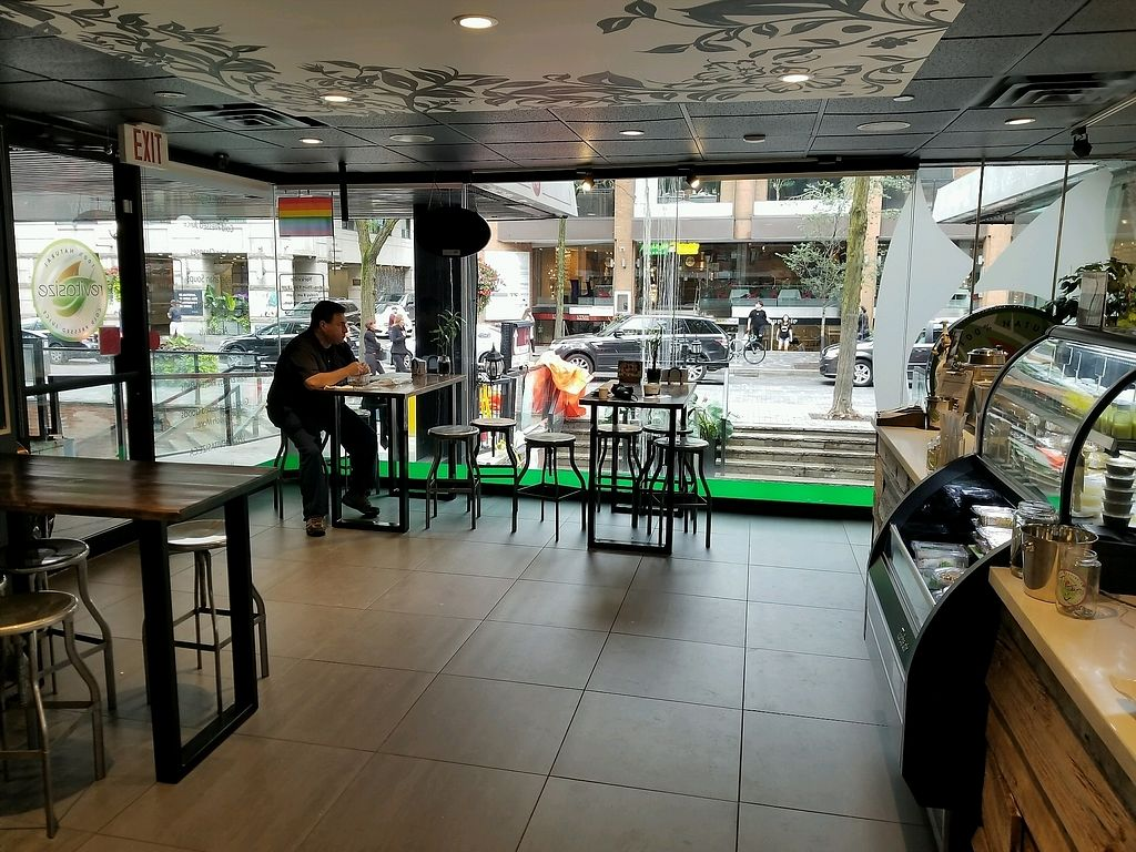"""Photo of Revitasize - Yorkville Ave  by <a href=""""/members/profile/kenvegan"""">kenvegan</a> <br/>inside <br/> September 7, 2017  - <a href='/contact/abuse/image/90192/301860'>Report</a>"""