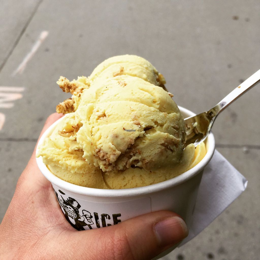 "Photo of Black Cat Ice Cream  by <a href=""/members/profile/shafess"">shafess</a> <br/>Spicy Vegan Coconut Curry w/ Granola <br/> April 15, 2017  - <a href='/contact/abuse/image/90198/248422'>Report</a>"