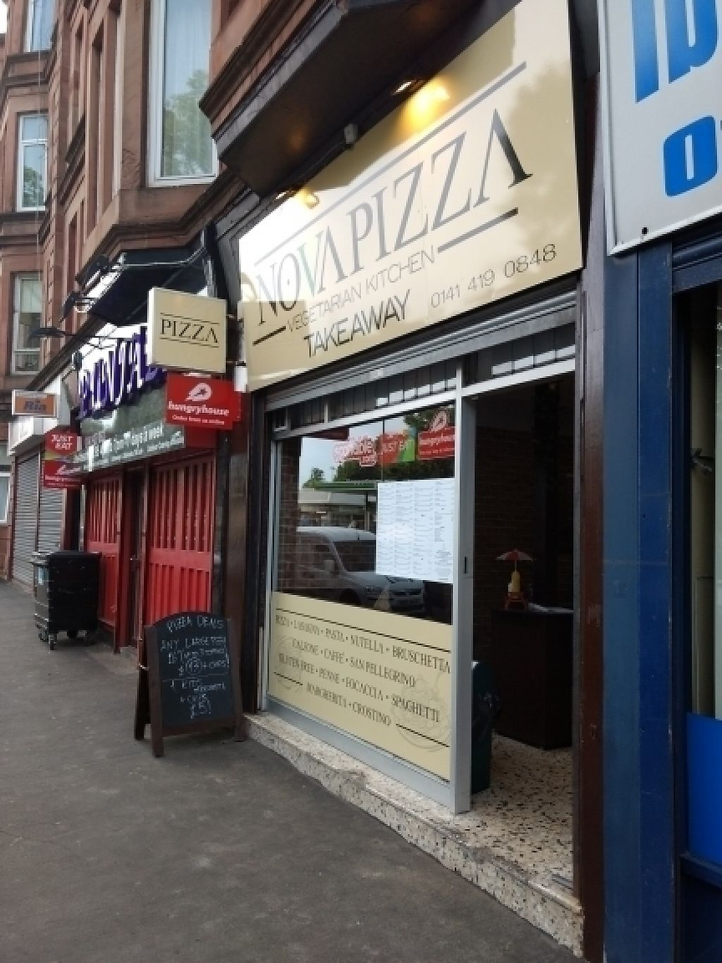 "Photo of CLOSED: NovaPizza Vegetarian Kitchen  by <a href=""/members/profile/craigmc"">craigmc</a> <br/>boom here we are <br/> May 28, 2017  - <a href='/contact/abuse/image/90223/263490'>Report</a>"