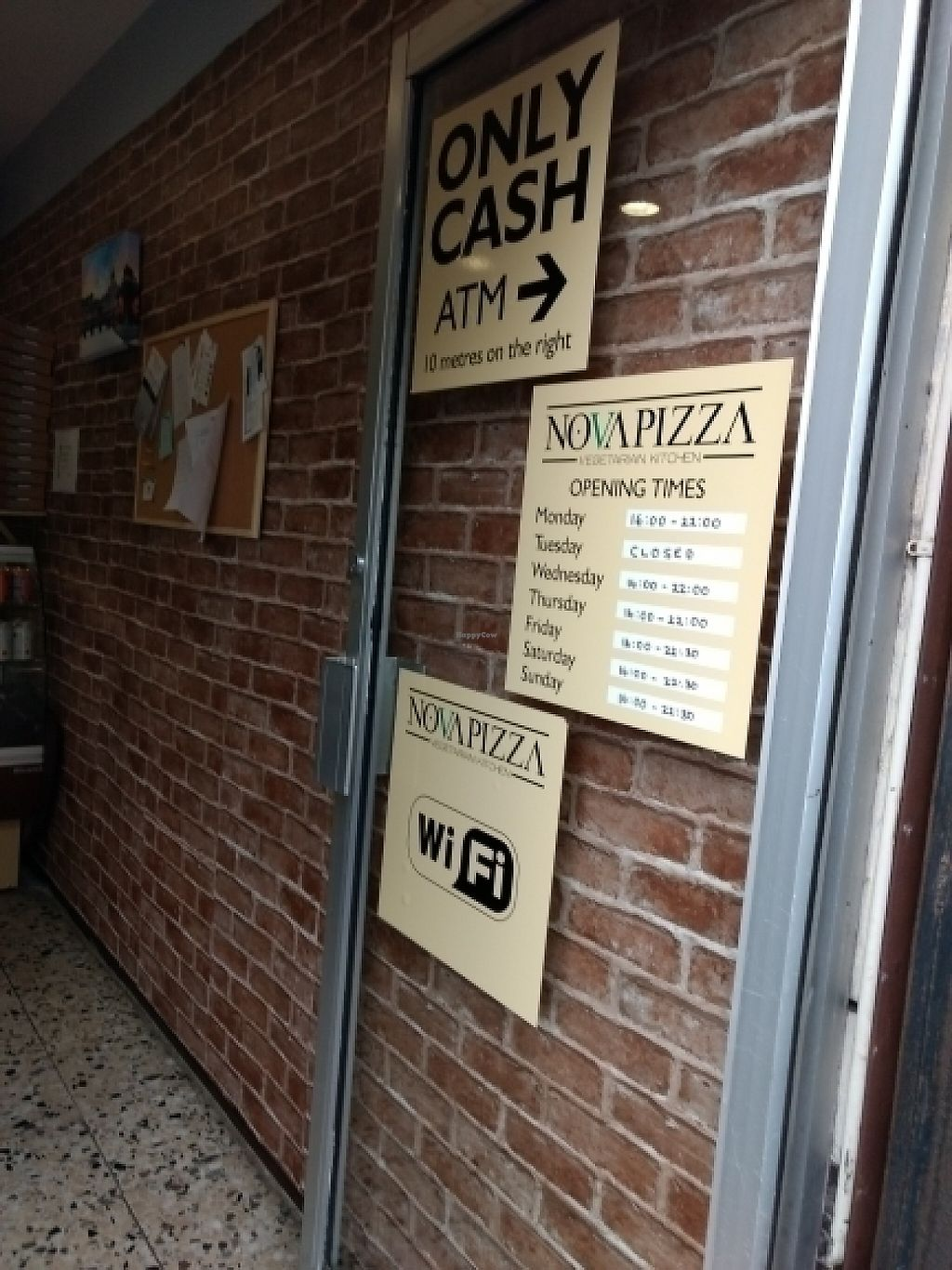 "Photo of CLOSED: NovaPizza Vegetarian Kitchen  by <a href=""/members/profile/craigmc"">craigmc</a> <br/>get in <br/> May 28, 2017  - <a href='/contact/abuse/image/90223/263491'>Report</a>"