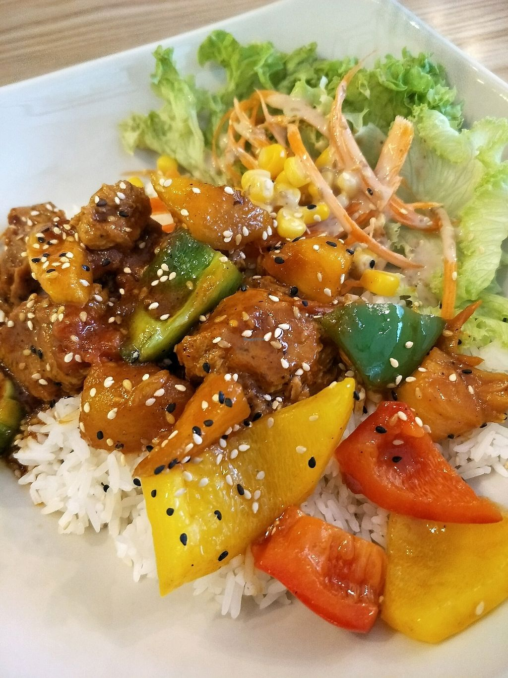 """Photo of Harmony Hut International Food  by <a href=""""/members/profile/MichelleNg"""">MichelleNg</a> <br/>sweet n sour rice <br/> March 5, 2018  - <a href='/contact/abuse/image/90230/367088'>Report</a>"""
