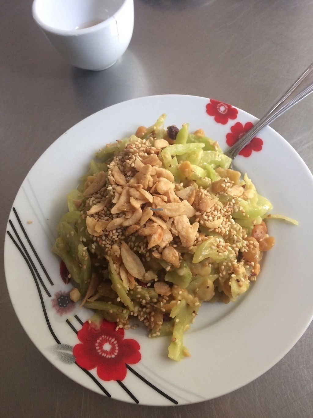 "Photo of Pan Cherry Noodle House & Cafe  by <a href=""/members/profile/Cyclinggal"">Cyclinggal</a> <br/>Tomato salad <br/> April 14, 2017  - <a href='/contact/abuse/image/90240/247728'>Report</a>"