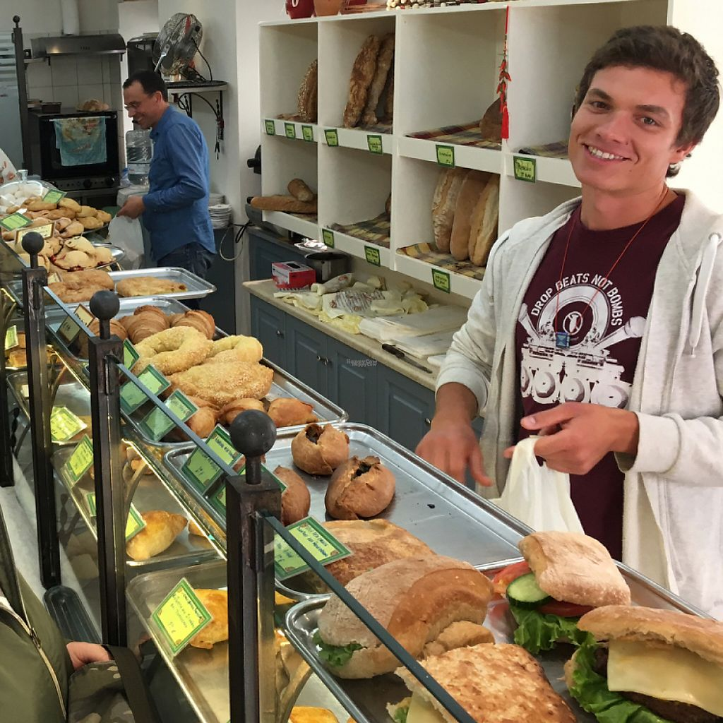 """Photo of Starenio Bakery  by <a href=""""/members/profile/Skankovic"""">Skankovic</a> <br/>loads of vegan pasties. Great help with excellent English.  <br/> April 20, 2017  - <a href='/contact/abuse/image/90245/250218'>Report</a>"""