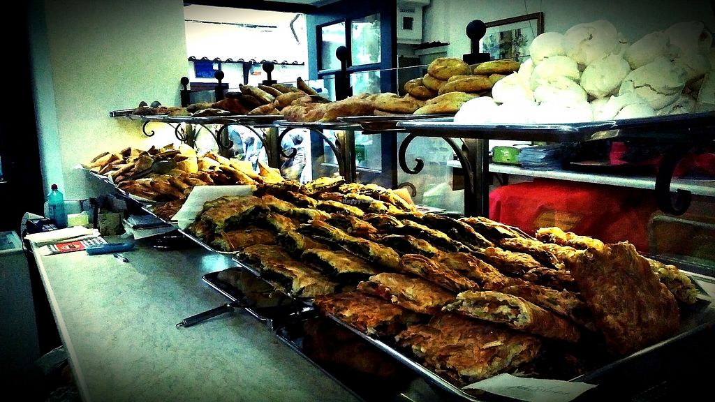 """Photo of Starenio Bakery  by <a href=""""/members/profile/StarenioBakery"""">StarenioBakery</a> <br/>Daily variety of more than 7 vegan pies and sweets! (More, depending on the season - in Easter time almost everything is vegan, for example!) <br/> April 18, 2018  - <a href='/contact/abuse/image/90245/387684'>Report</a>"""