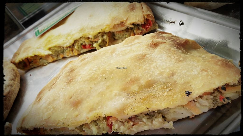 """Photo of Starenio Bakery  by <a href=""""/members/profile/StarenioBakery"""">StarenioBakery</a> <br/>Vegan pie with broccoli, red sweet peppers, groats, herbs and spices <br/> April 18, 2018  - <a href='/contact/abuse/image/90245/387688'>Report</a>"""