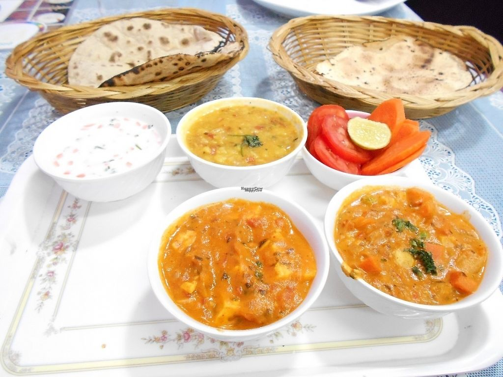 """Photo of Flavours of India  by <a href=""""/members/profile/Kelly%20Kelly"""">Kelly Kelly</a> <br/>Thali > delicious  <br/> April 24, 2017  - <a href='/contact/abuse/image/90263/252088'>Report</a>"""