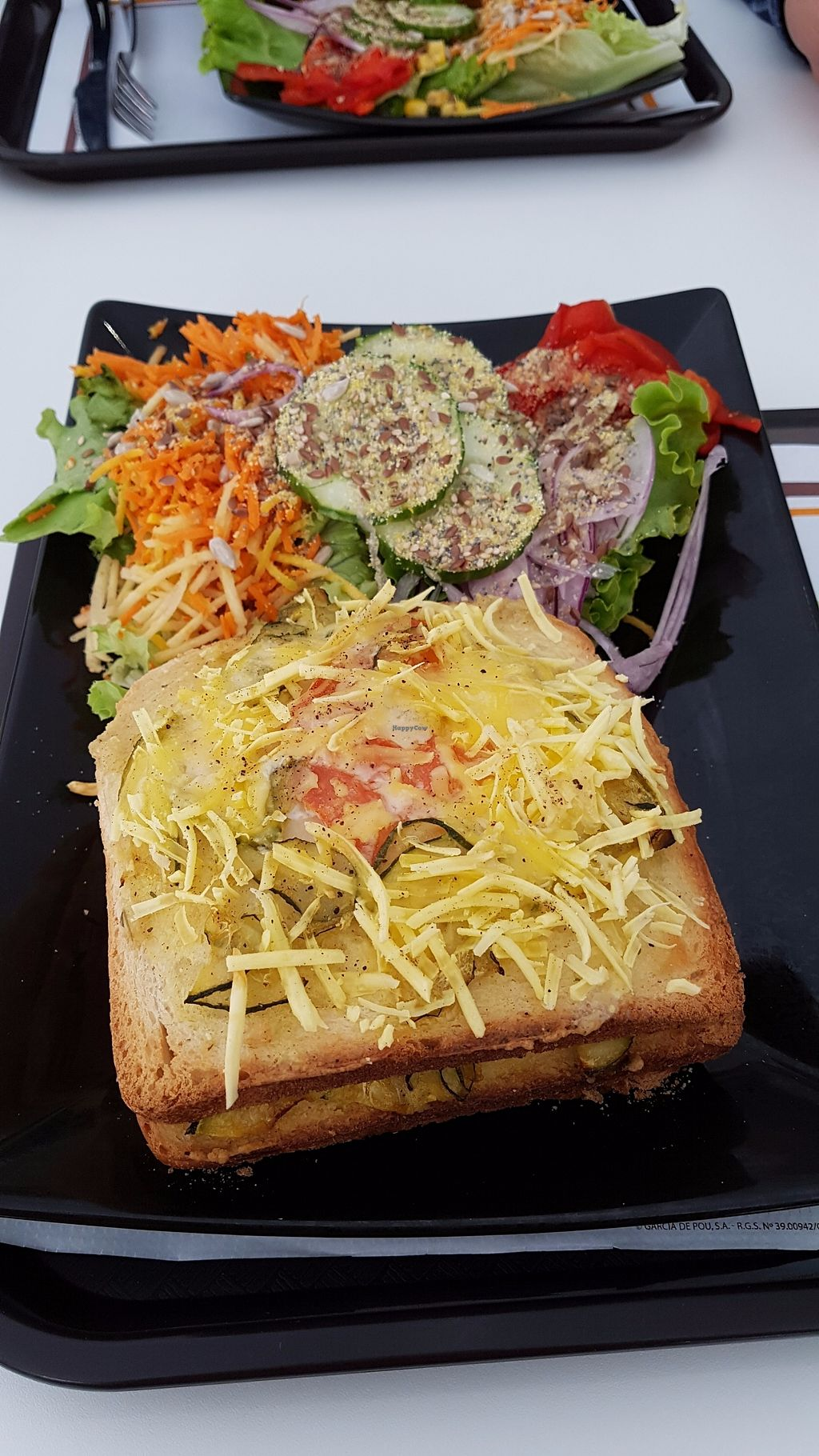 """Photo of Veggie Corner  by <a href=""""/members/profile/JonJon"""">JonJon</a> <br/>Croque-monsieur <br/> September 19, 2017  - <a href='/contact/abuse/image/90289/306051'>Report</a>"""