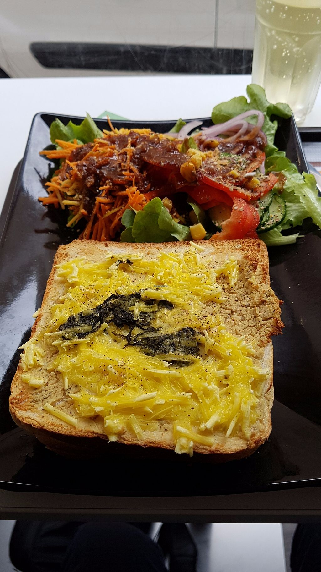 """Photo of Veggie Corner  by <a href=""""/members/profile/JonJon"""">JonJon</a> <br/>Croc-monsieur with ricotta cheese and spinach <br/> October 8, 2017  - <a href='/contact/abuse/image/90289/313259'>Report</a>"""