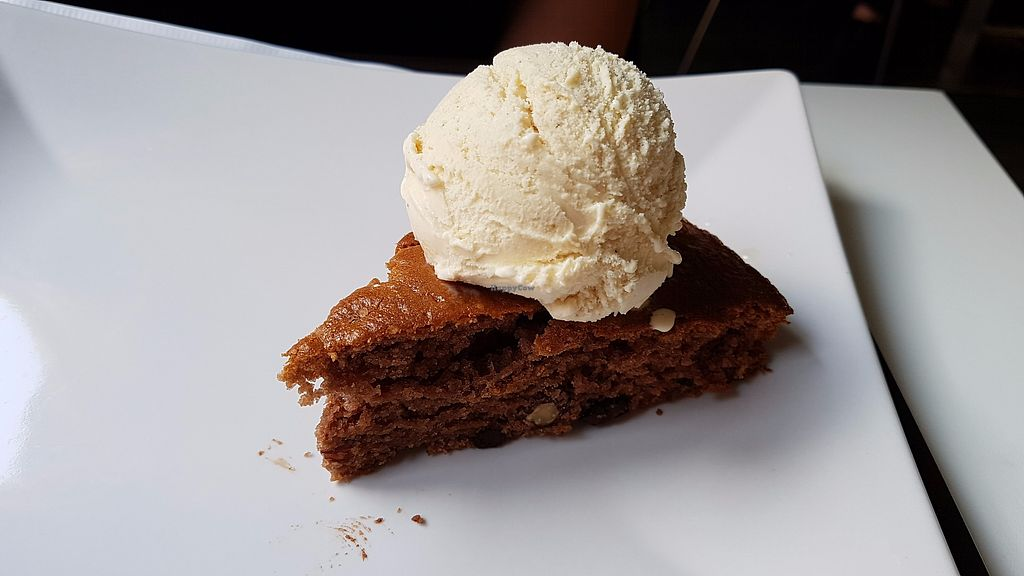 """Photo of Veggie Corner  by <a href=""""/members/profile/JonJon"""">JonJon</a> <br/>Hazelnut and chocolate cake with vanilla ice cream <br/> October 15, 2017  - <a href='/contact/abuse/image/90289/315570'>Report</a>"""