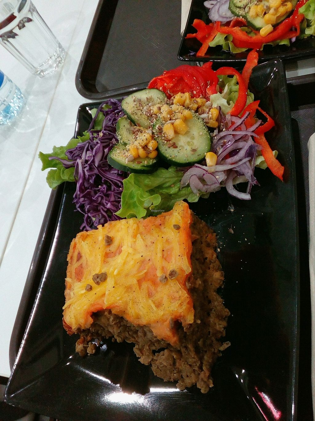 """Photo of Veggie Corner  by <a href=""""/members/profile/wyrd"""">wyrd</a> <br/>lentils and salad <br/> December 14, 2017  - <a href='/contact/abuse/image/90289/335492'>Report</a>"""